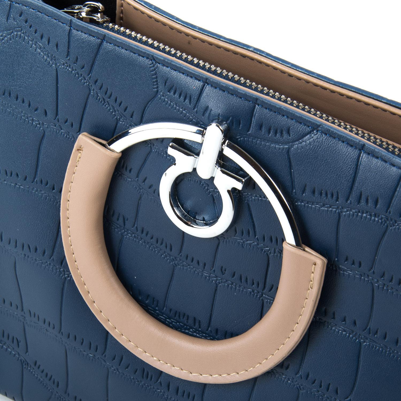 Сумка Женская Классическая иск-кожа FASHION 2-011 1089 blue - фото 3
