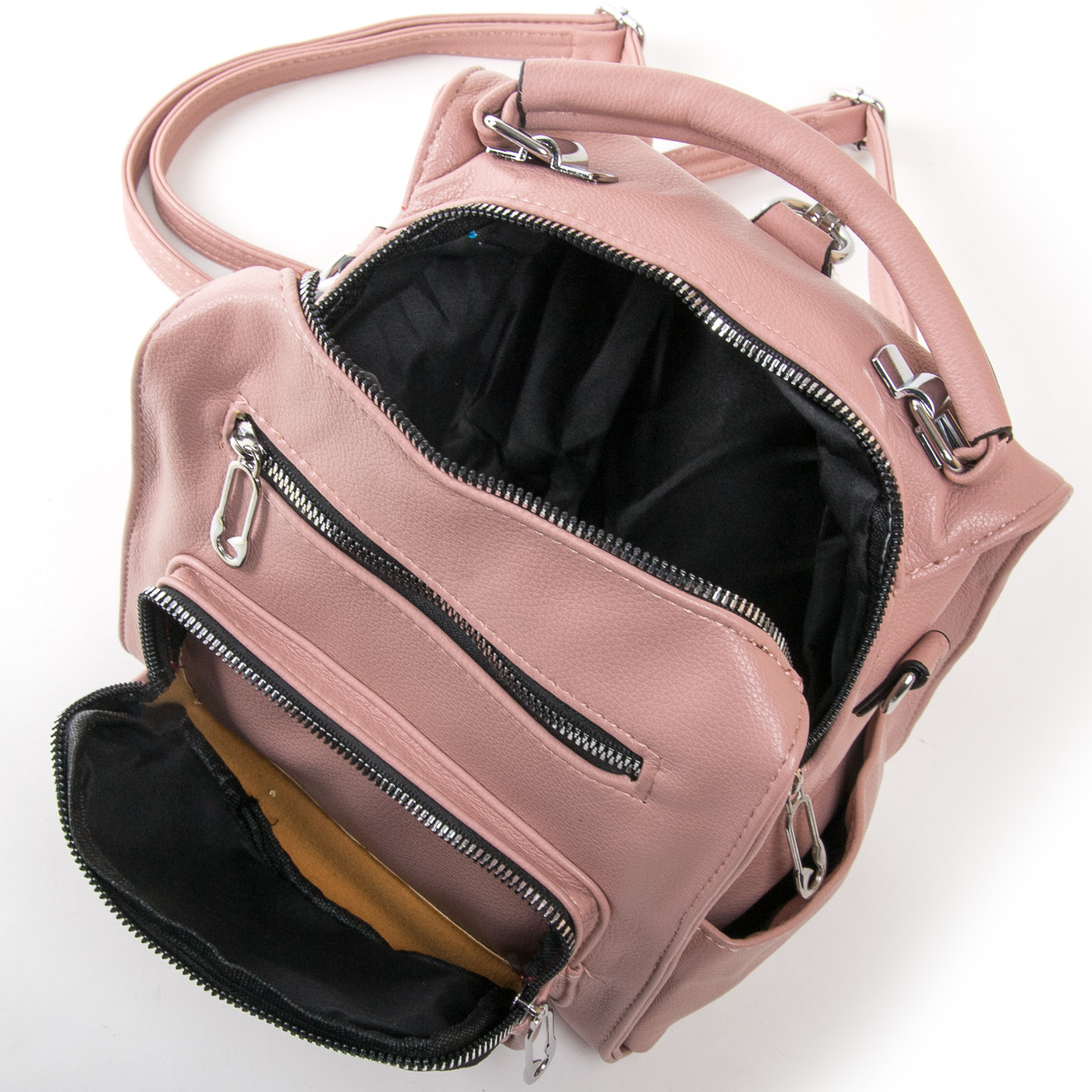 Сумка Женская Классическая иск-кожа FASHION 01-01 0464 pink - фото 5