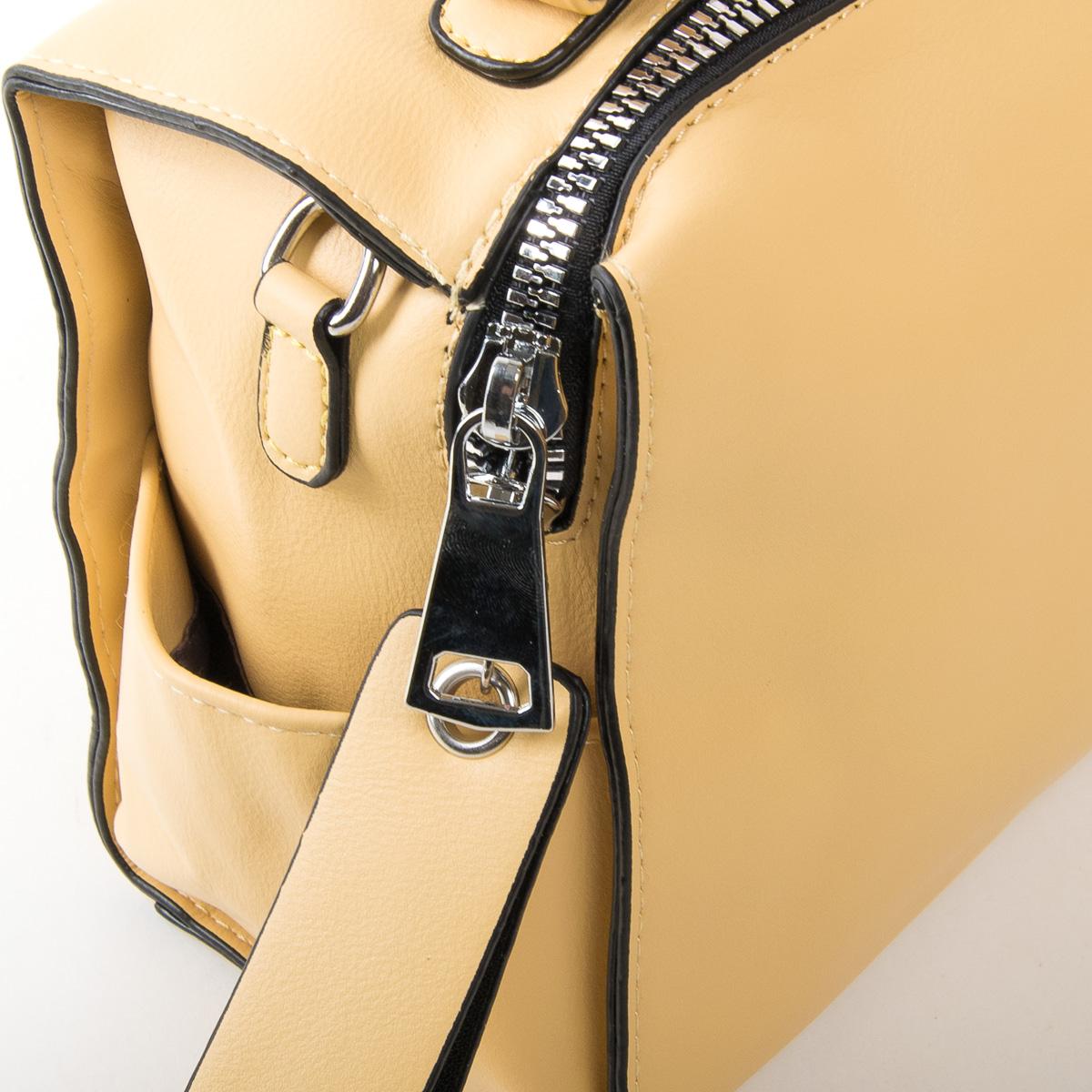 Сумка Женская Классическая иск-кожа FASHION 01-01 11053 yellow - фото 3