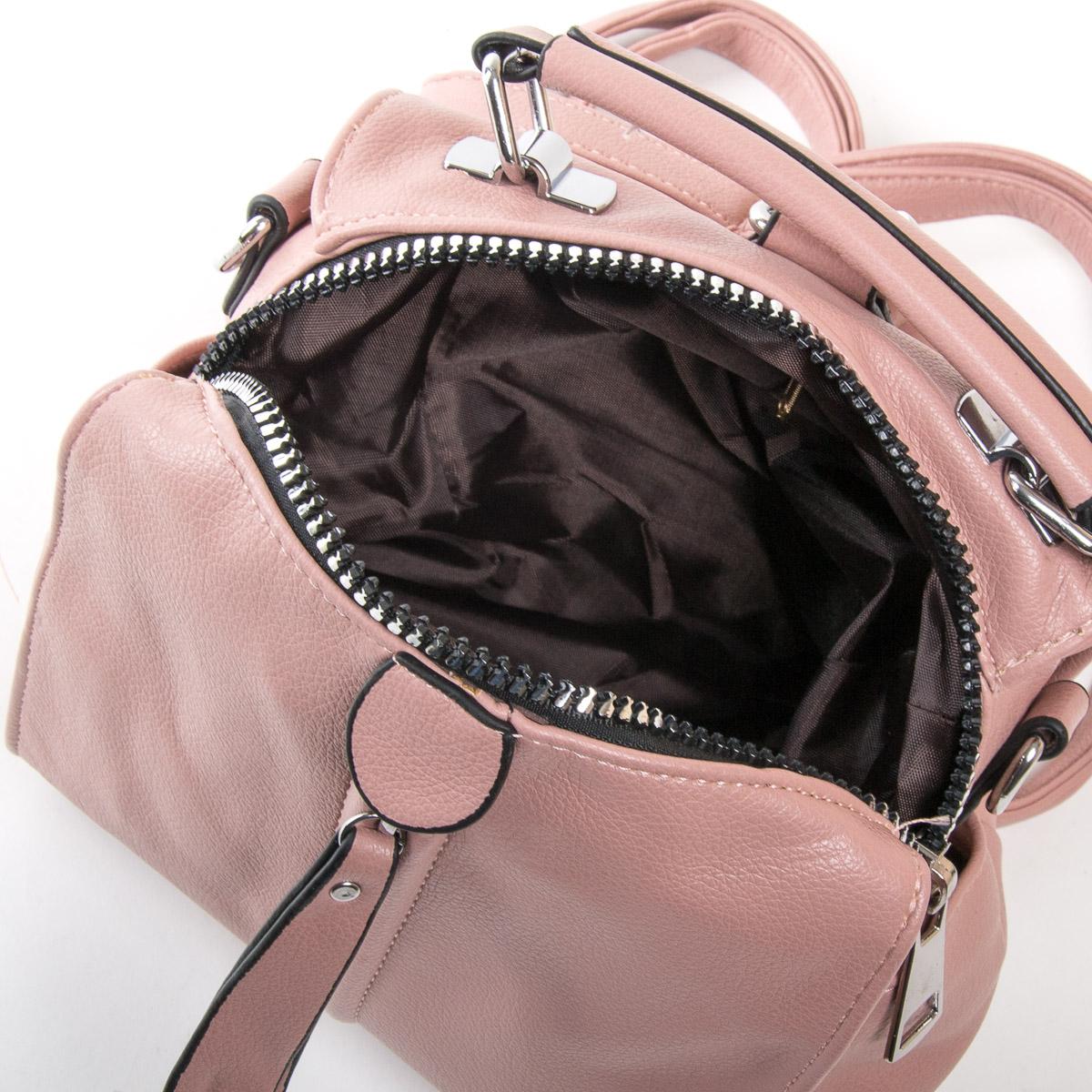 Сумка Женская Классическая иск-кожа FASHION 01-01 922 pink - фото 5