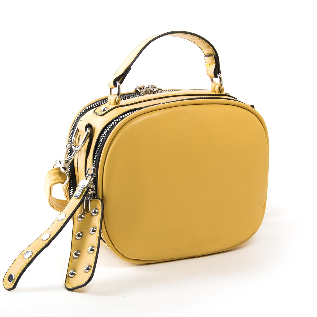 Сумка Женская Классическая иск-кожа FASHION 01-01 9879 yellow