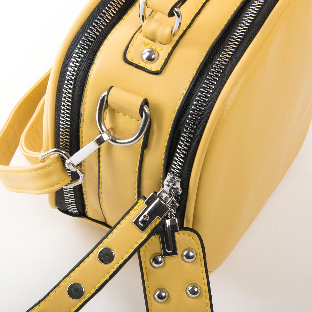 Сумка Женская Классическая иск-кожа FASHION 01-01 9879 yellow - фото 3