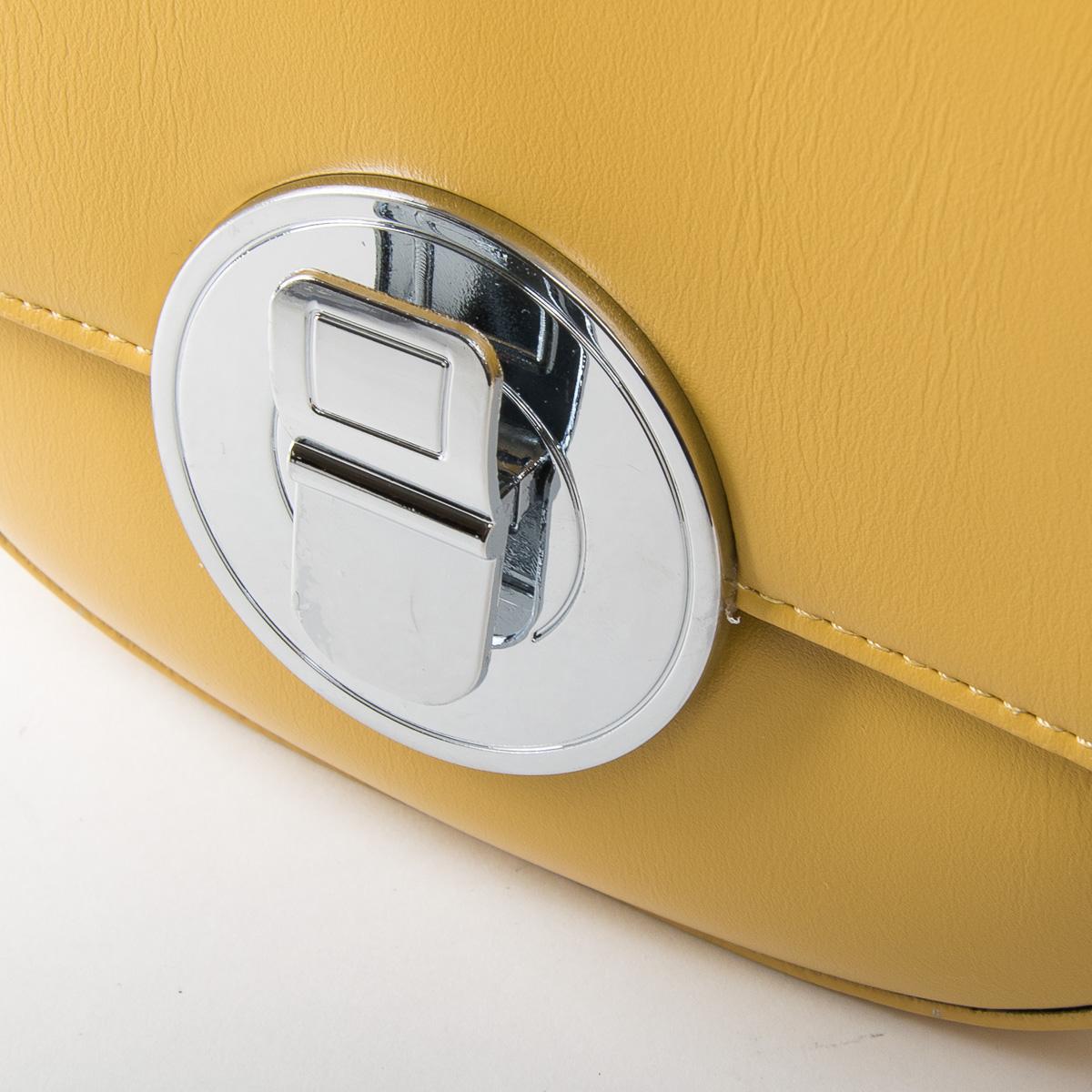 Сумка Женская Классическая иск-кожа FASHION 01-01 F3150 yellow - фото 3