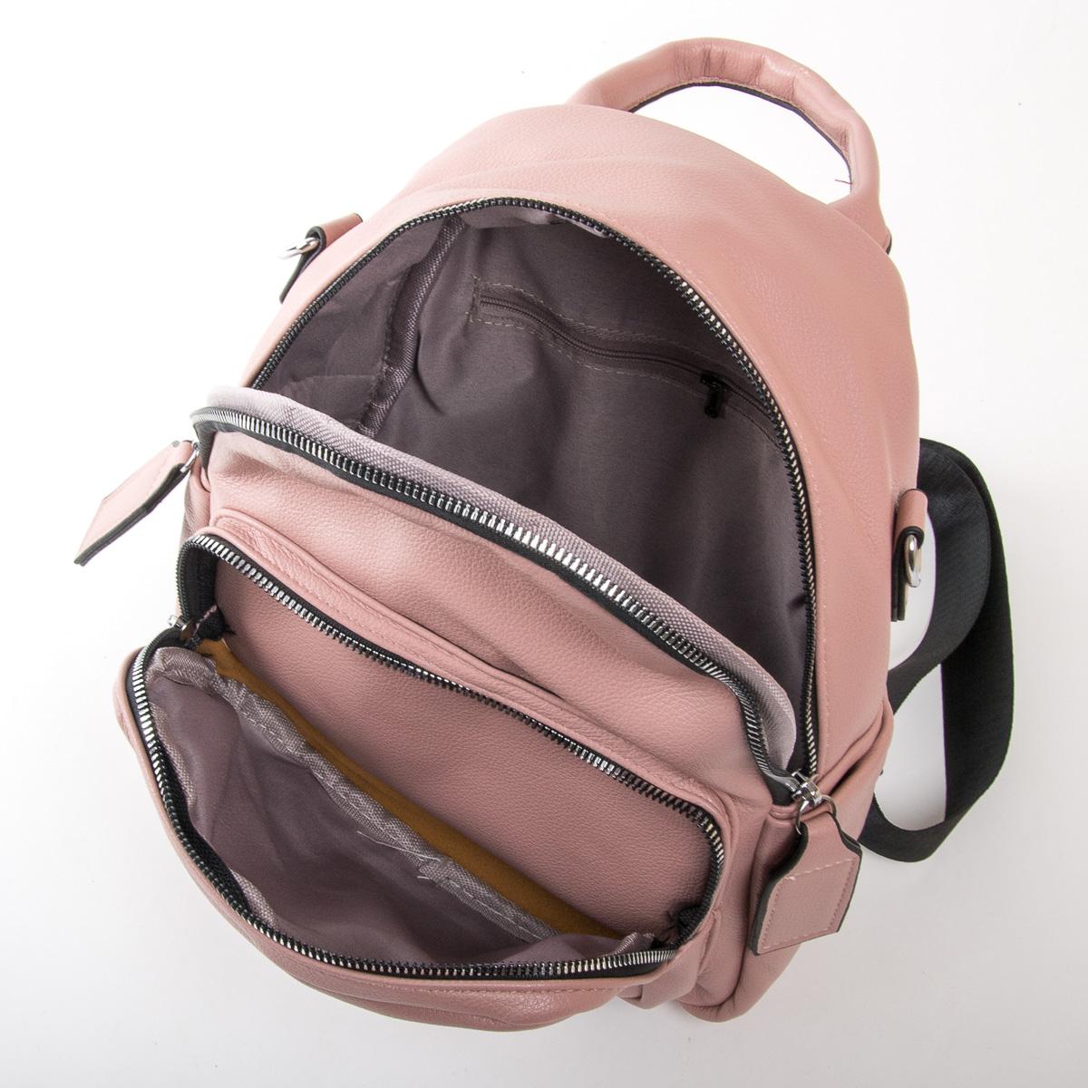 Сумка Женская Рюкзак иск-кожа FASHION 01-01 2701 pink - фото 5