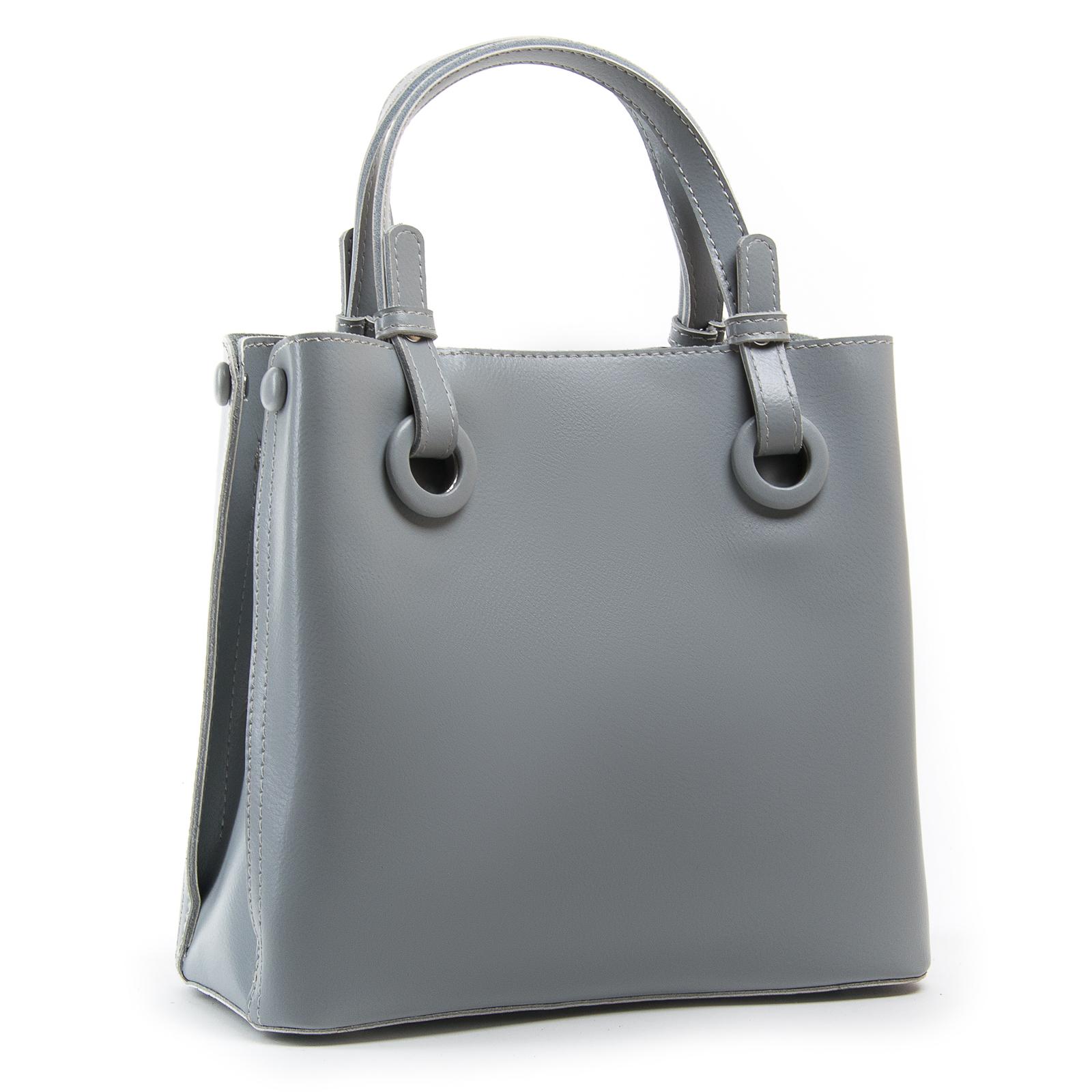 Сумка Женская Классическая кожа ALEX RAI 03-01 1546 light-grey
