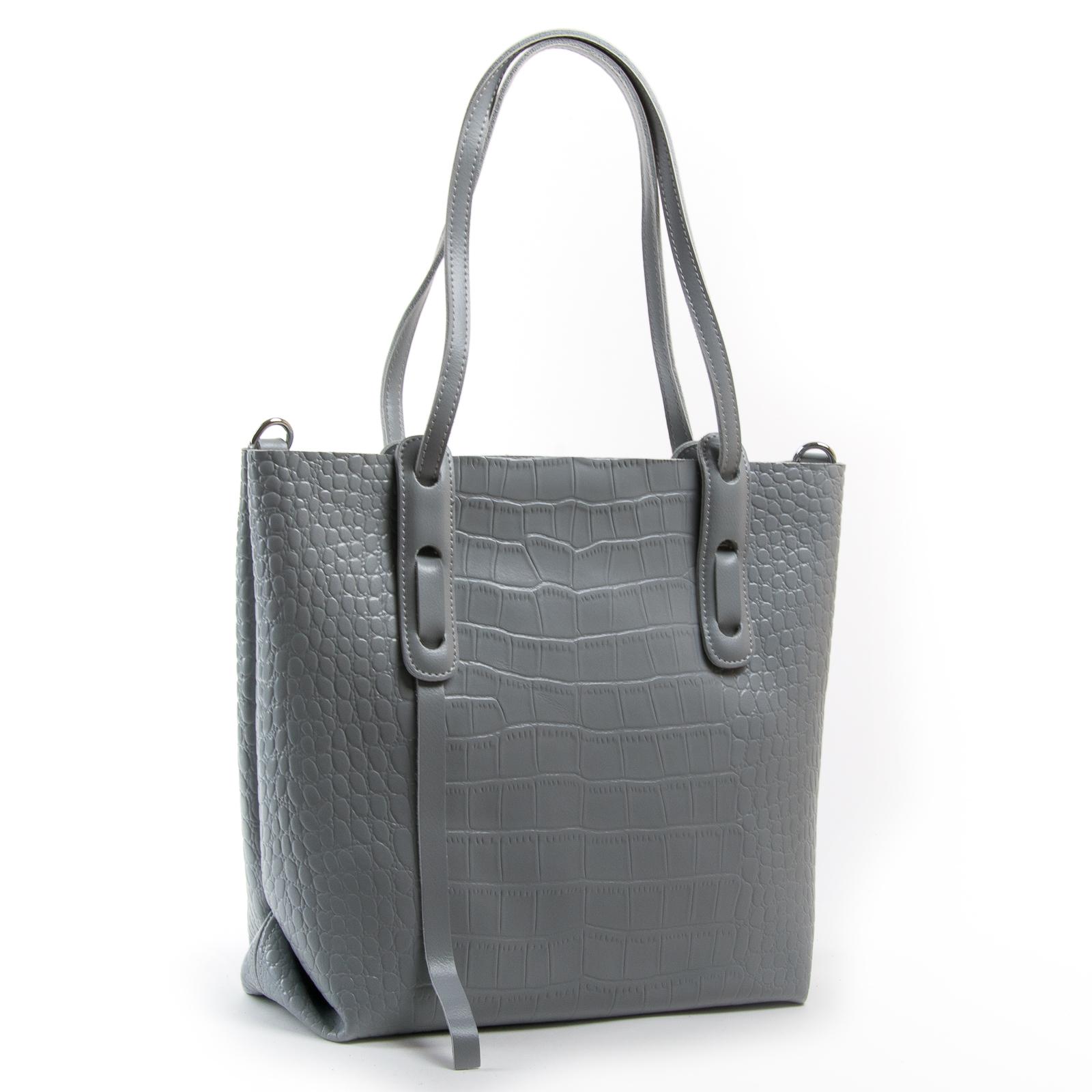 Сумка Женская Классическая кожа ALEX RAI 03-01 1899 light-grey