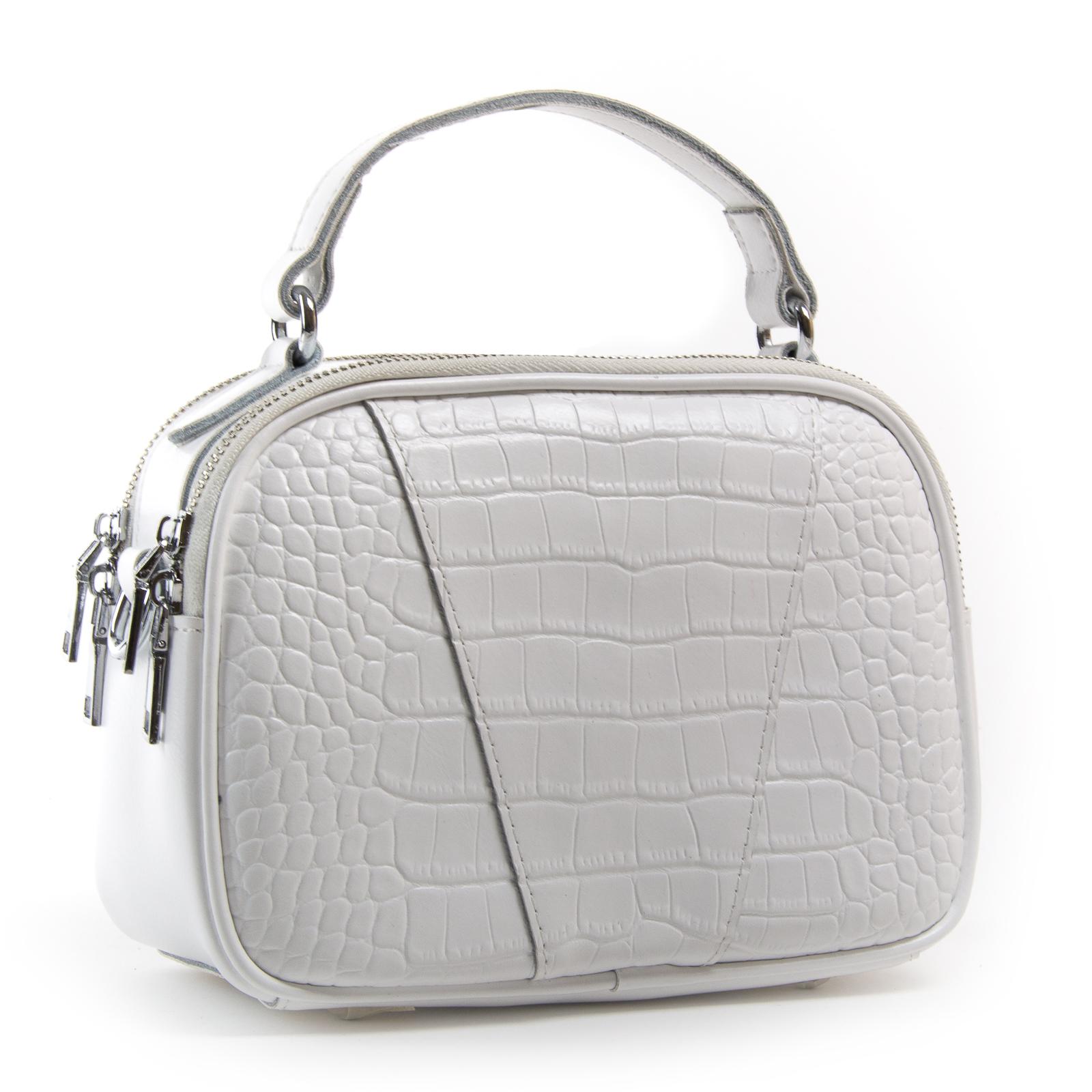 Сумка Женская Классическая кожа ALEX RAI 03-01 2233 white