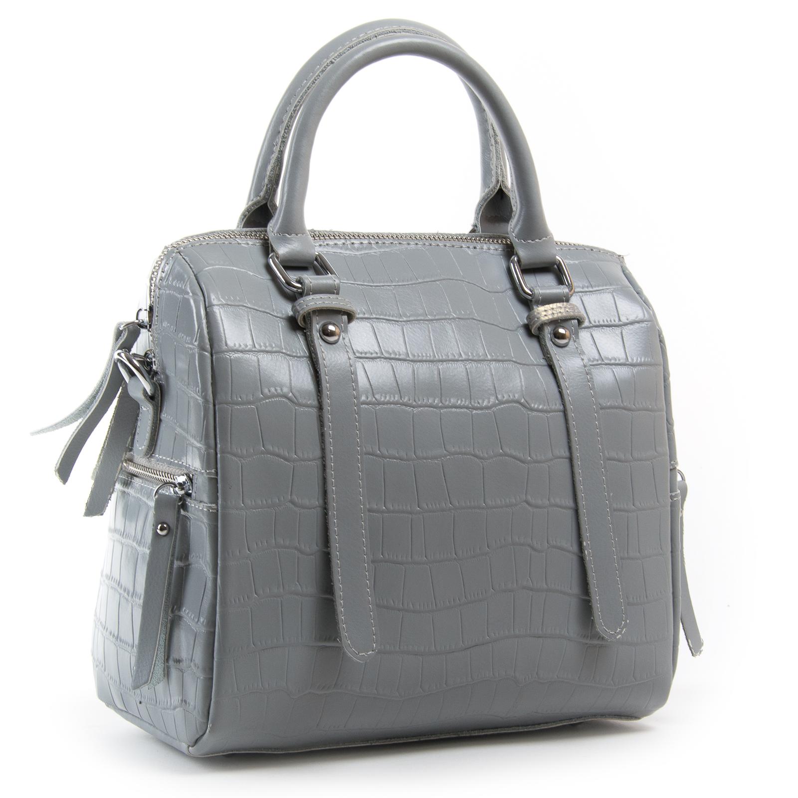 Сумка Женская Классическая кожа ALEX RAI 03-01 2234 grey