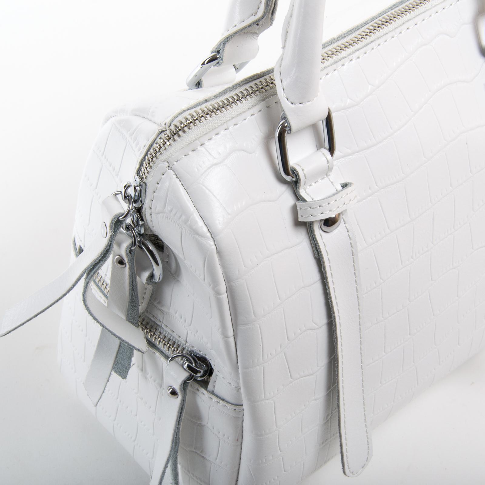 Сумка Женская Классическая кожа ALEX RAI 03-01 2234 white - фото 3