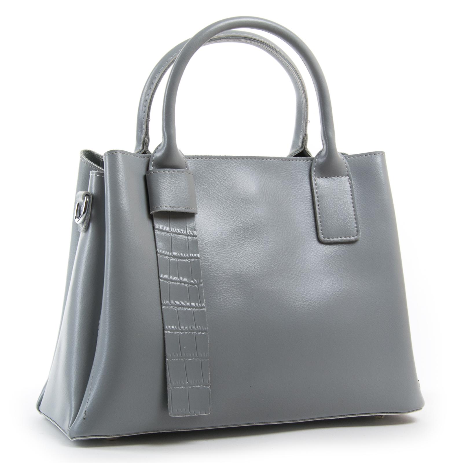 Сумка Женская Классическая кожа ALEX RAI 03-01 2235 grey