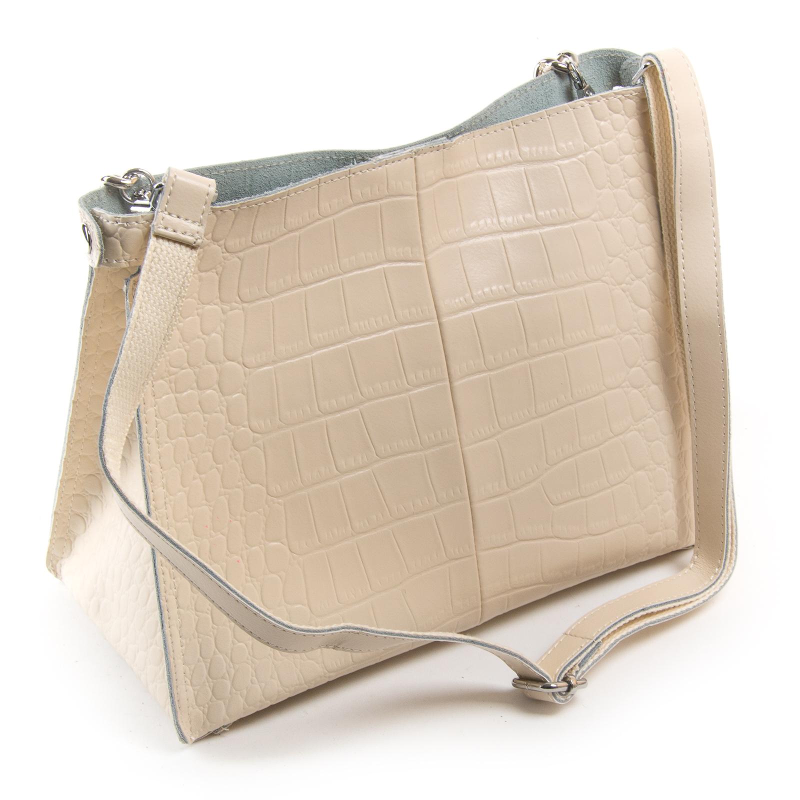 Сумка Женская Классическая кожа ALEX RAI 03-01 3202 beige - фото 4