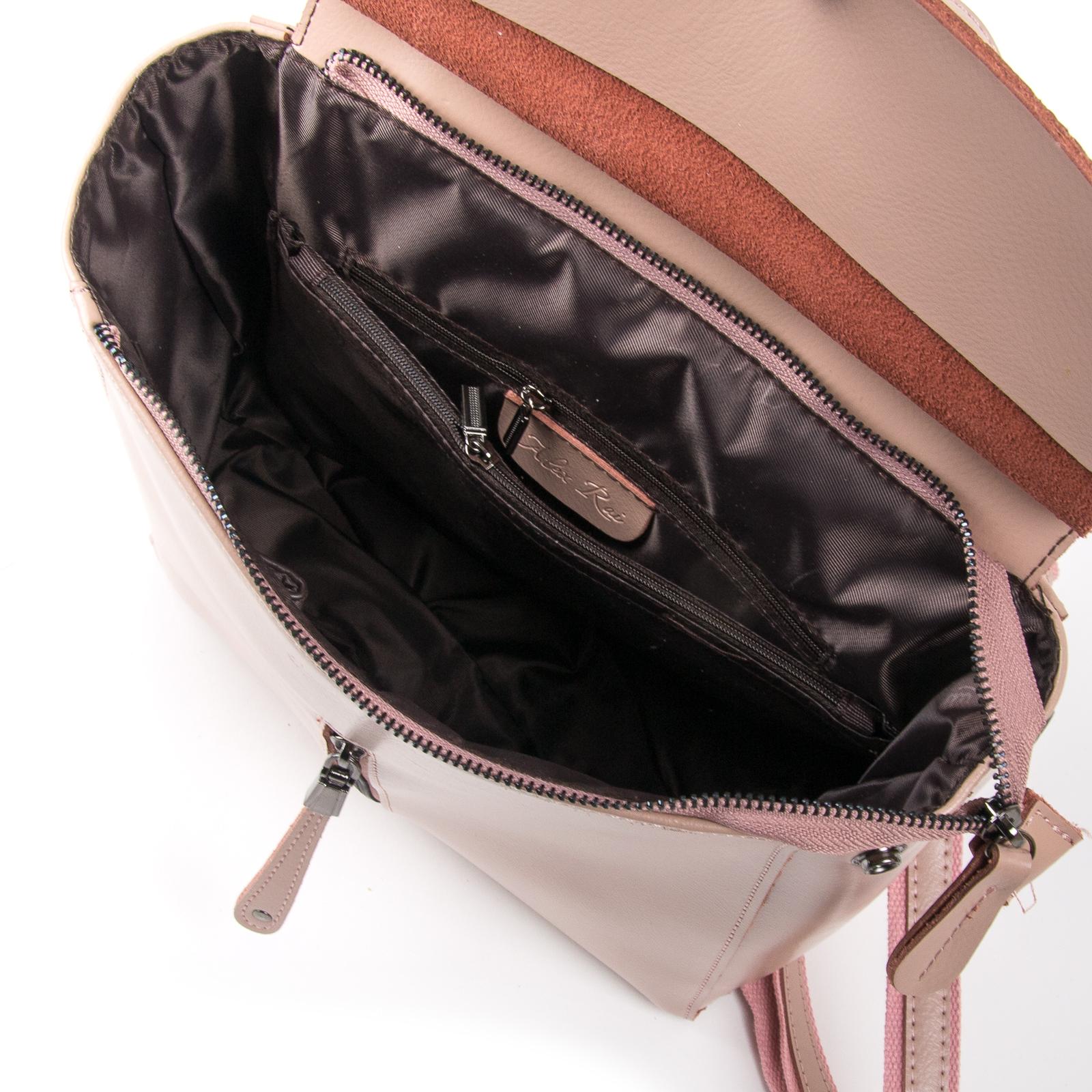 Сумка Женская Классическая кожа ALEX RAI 03-01 3206 pink - фото 5
