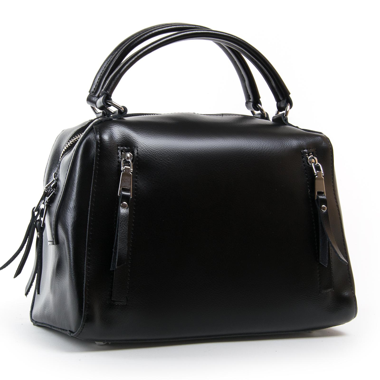 Сумка Женская Классическая кожа ALEX RAI 03-01 8763 black