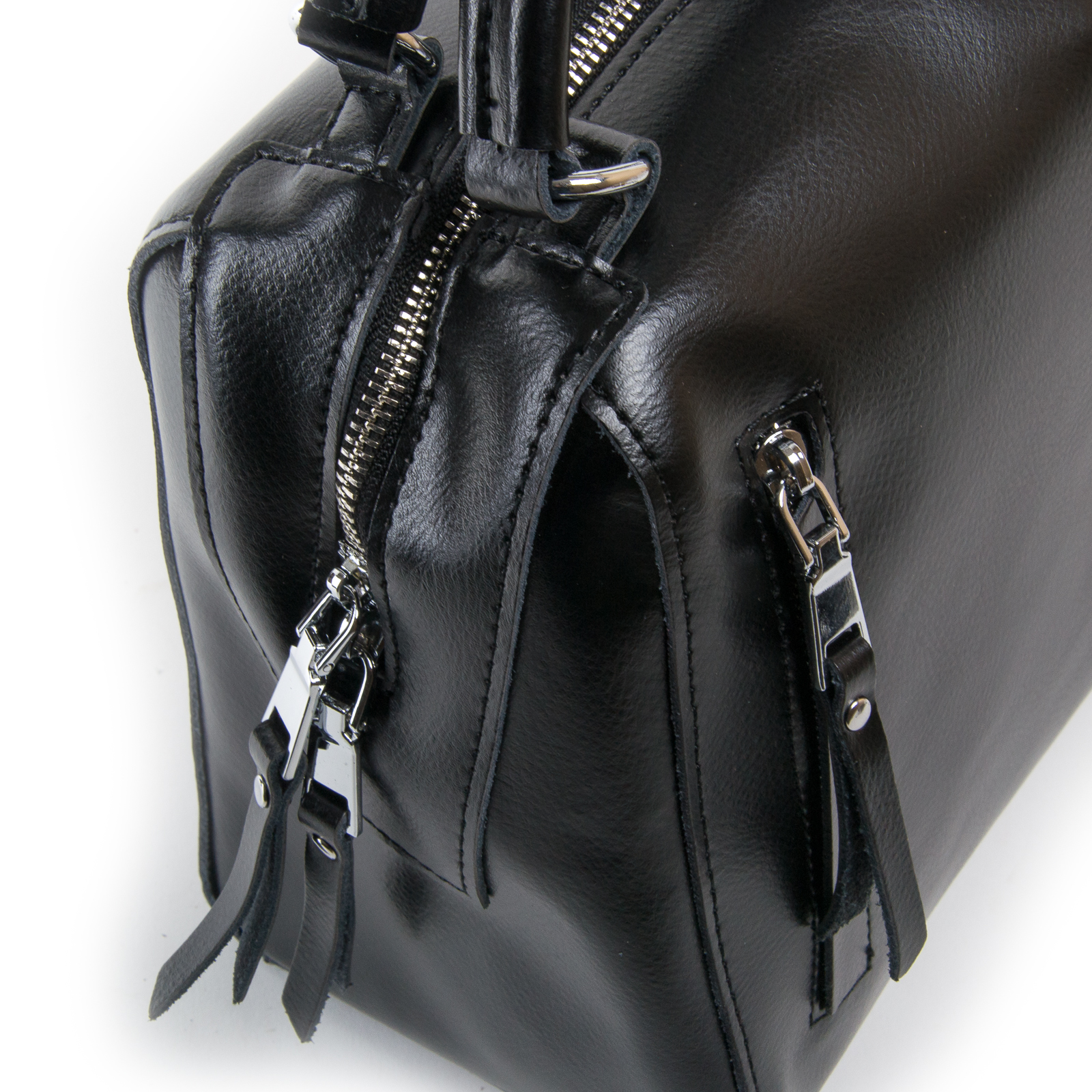 Сумка Женская Классическая кожа ALEX RAI 03-01 8763 black - фото 3