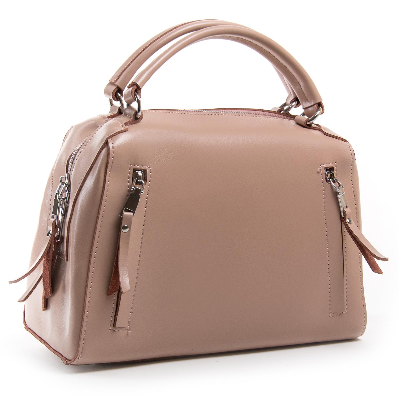 Сумка Женская Классическая кожа ALEX RAI 03-01 8763 pink