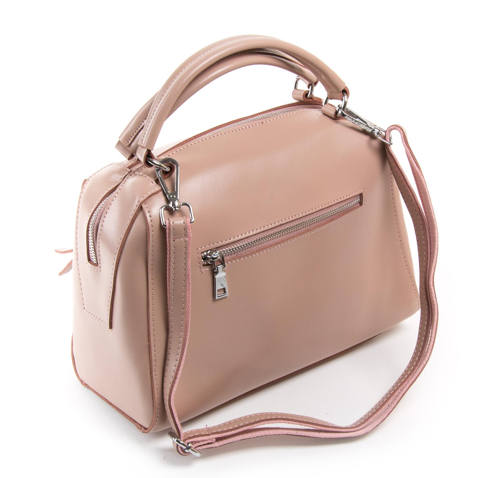 Сумка Женская Классическая кожа ALEX RAI 03-01 8763 pink - фото 4