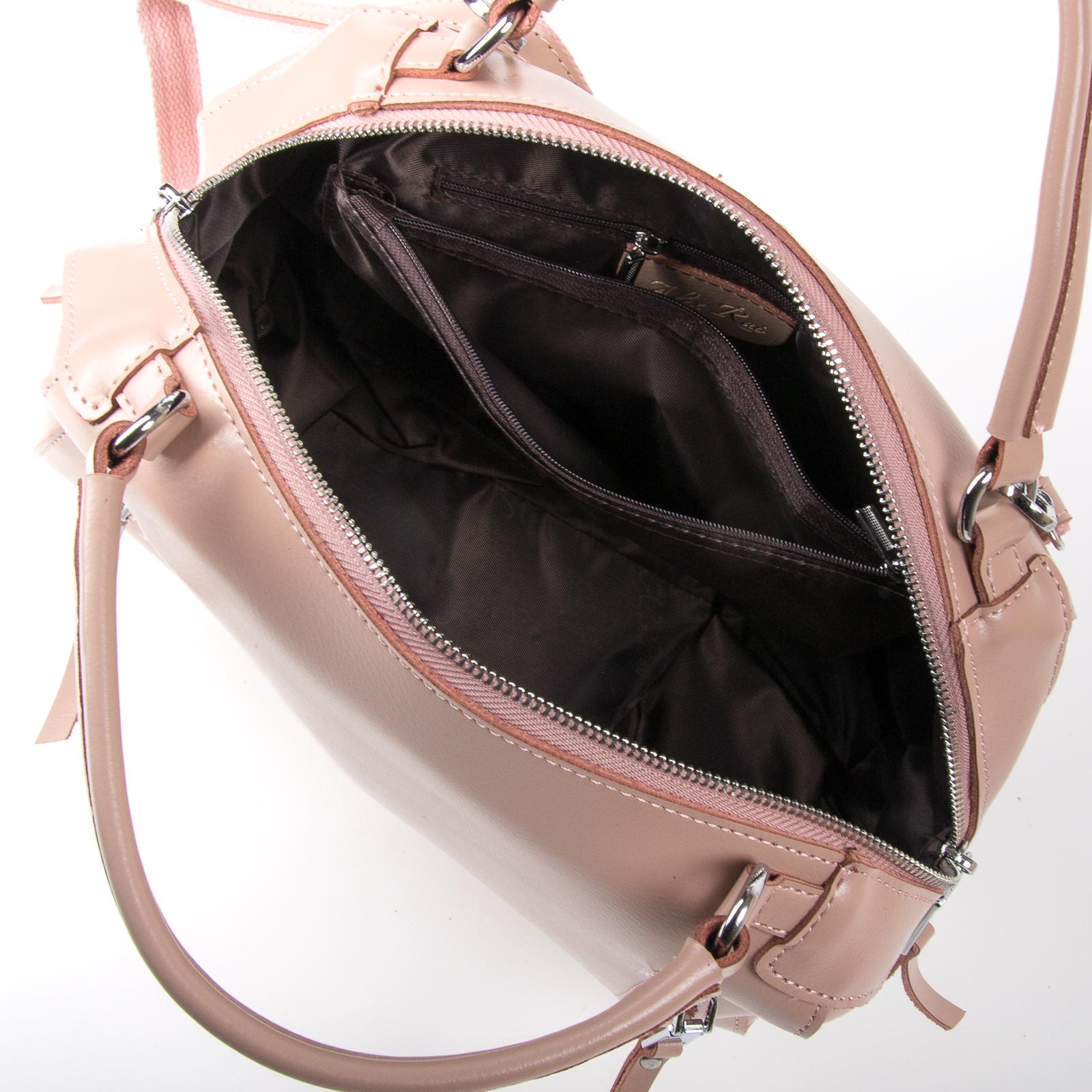 Сумка Женская Классическая кожа ALEX RAI 03-01 8763 pink - фото 5
