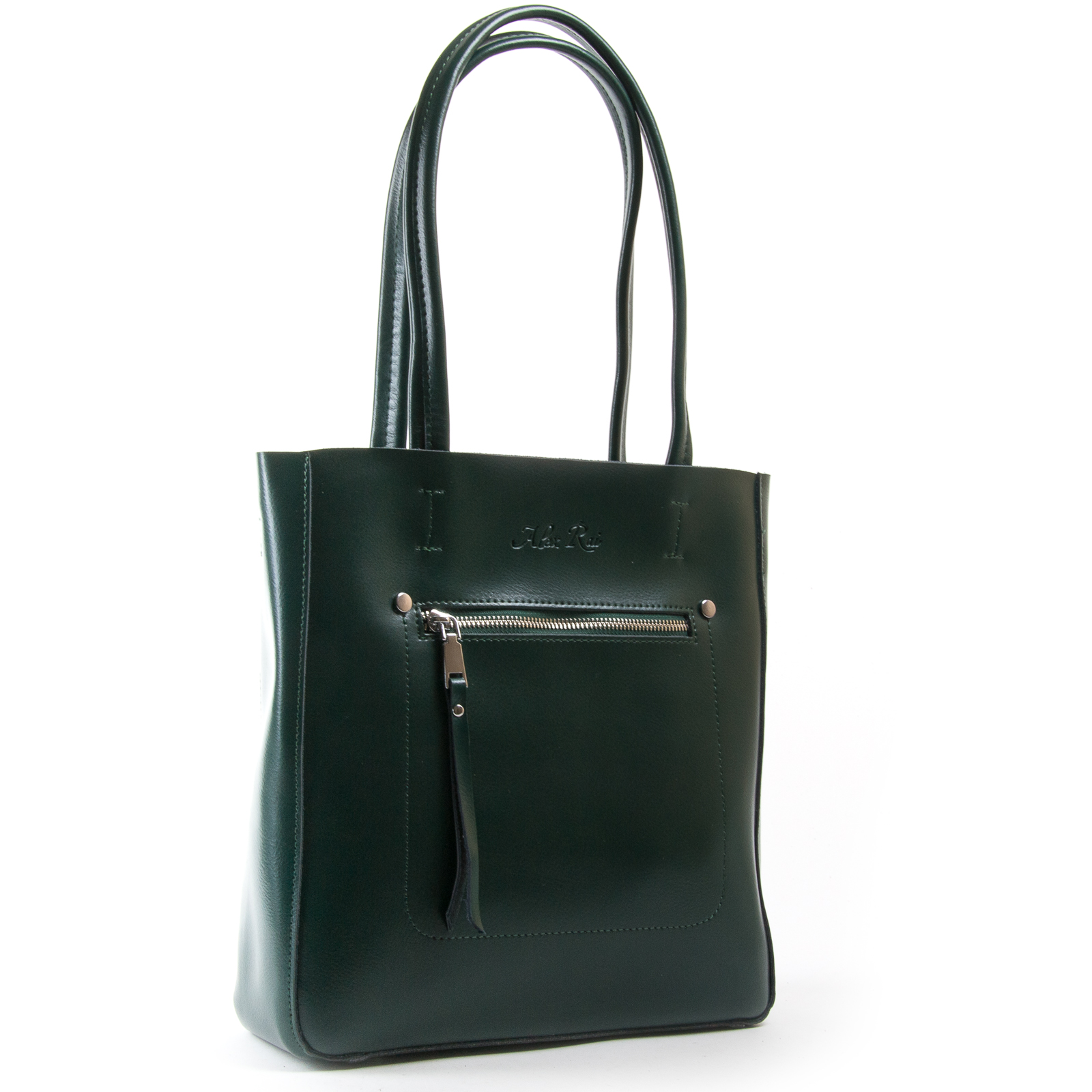 Сумка Женская Классическая кожа ALEX RAI 03-01 8773 green