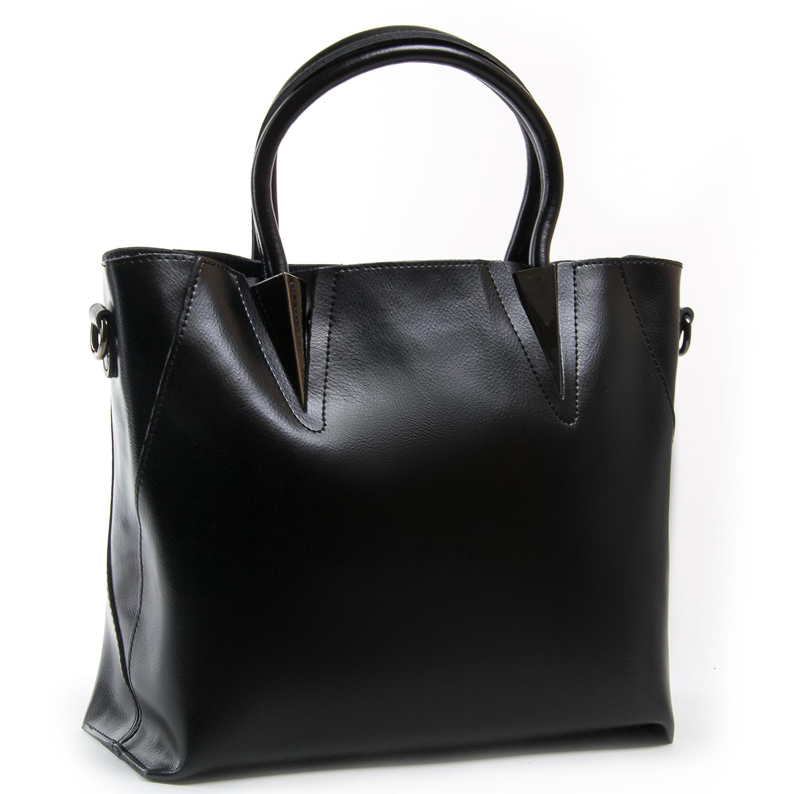 Сумка Женская Классическая кожа ALEX RAI 03-01 8778 black