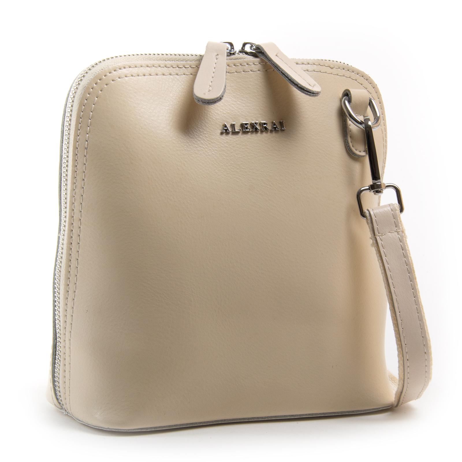 Сумка Женская Классическая кожа ALEX RAI 03-01 8803 light-beige