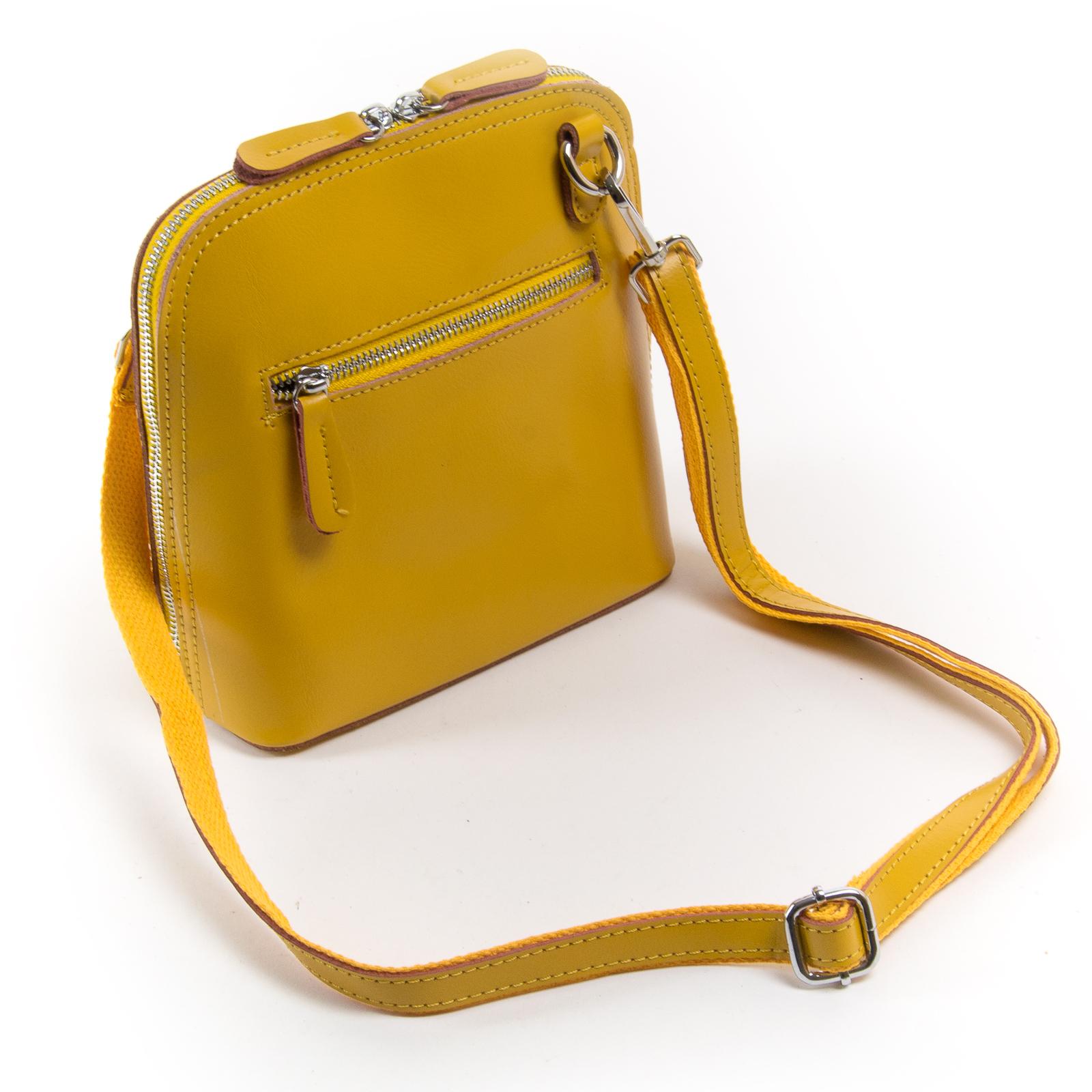 Сумка Женская Классическая кожа ALEX RAI 03-01 8803 yellow - фото 4