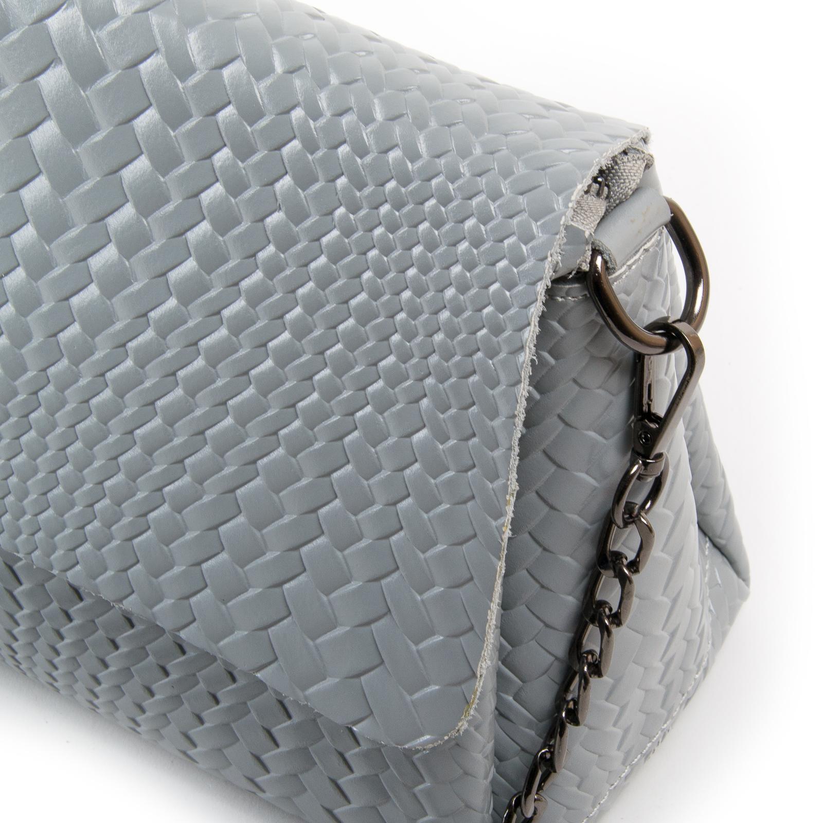 Сумка Женская Классическая кожа ALEX RAI 03-01 J009-1 grey - фото 3