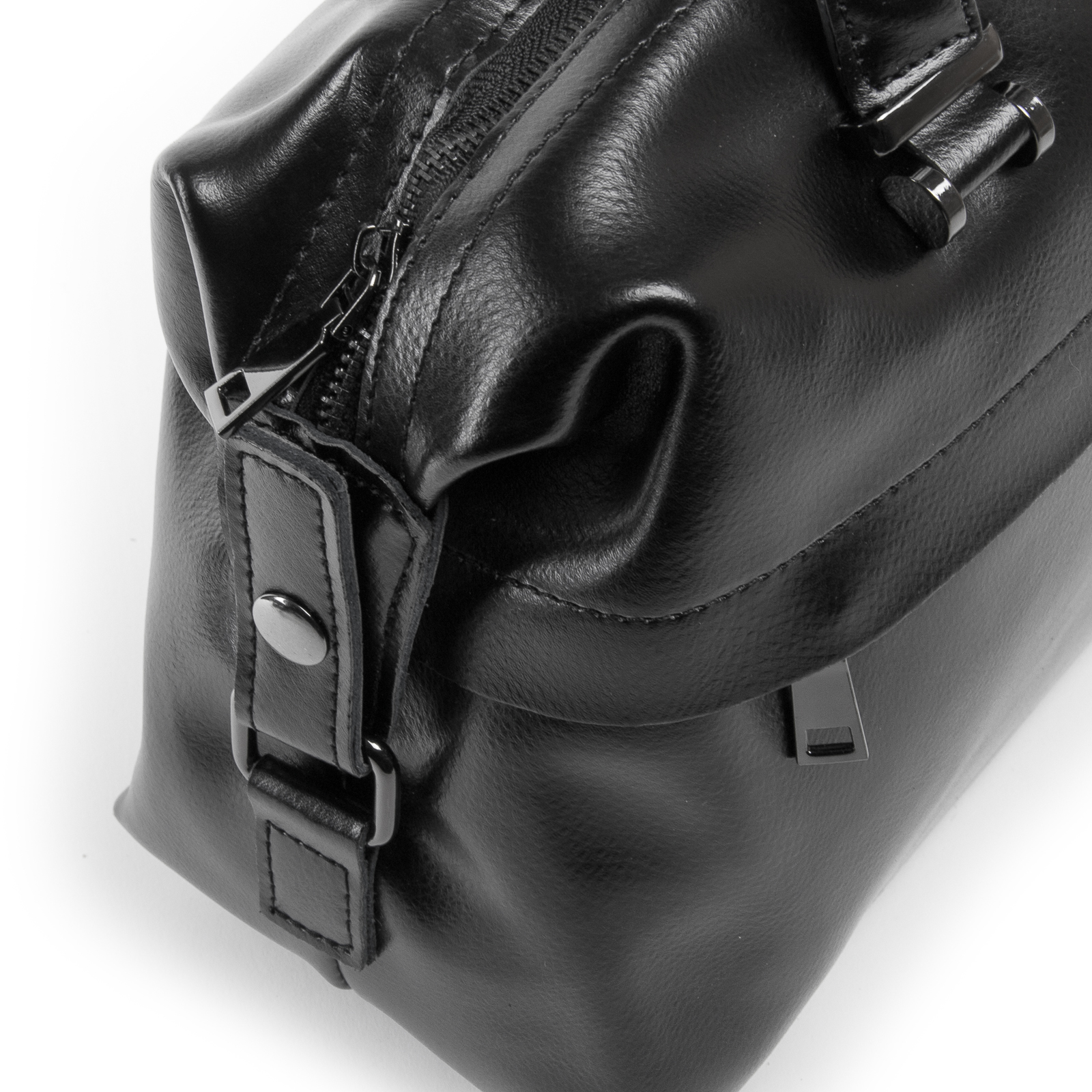 Сумка Женская Классическая кожа ALEX RAI 03-01 P1532 black - фото 3