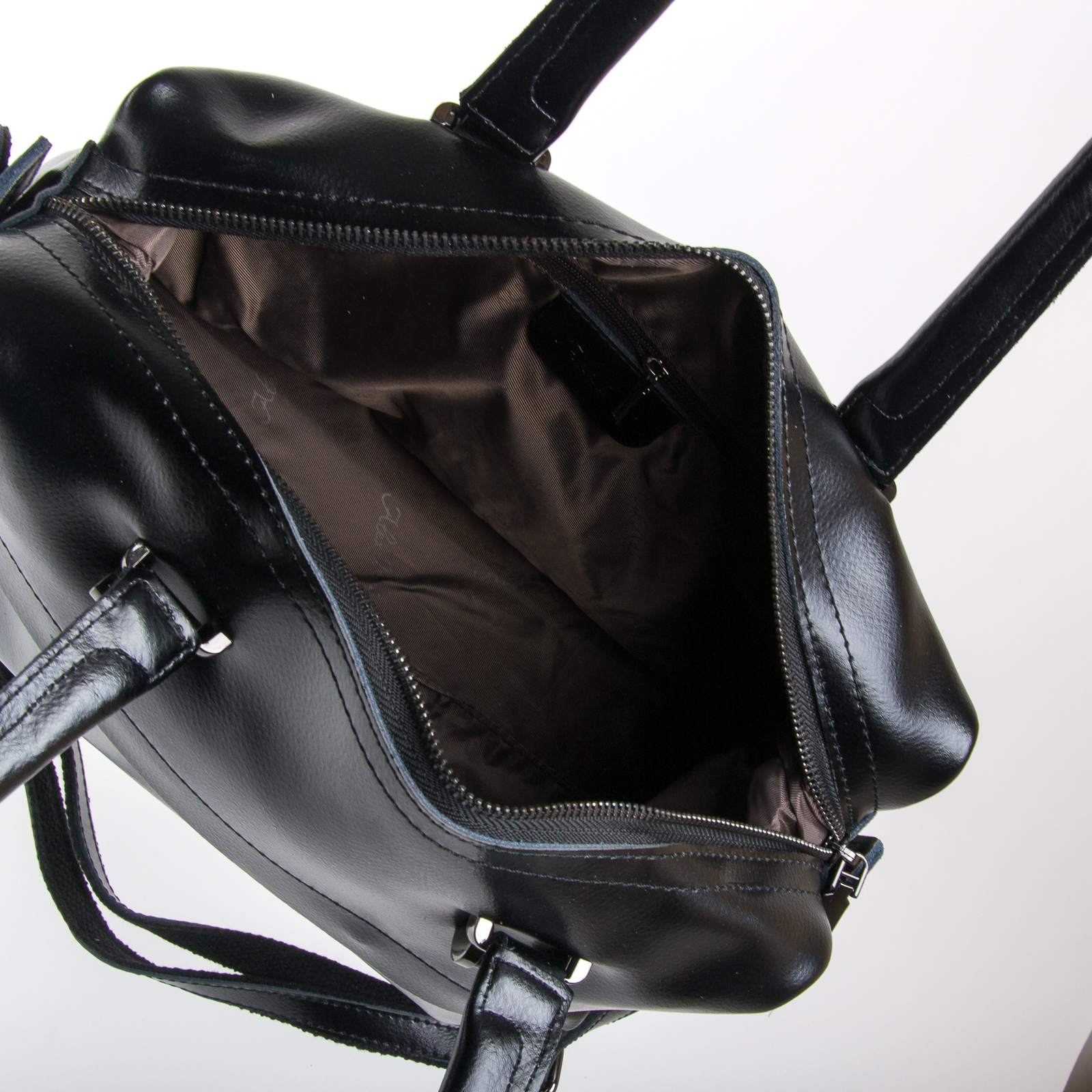 Сумка Женская Классическая кожа ALEX RAI 03-01 P1532 black - фото 5