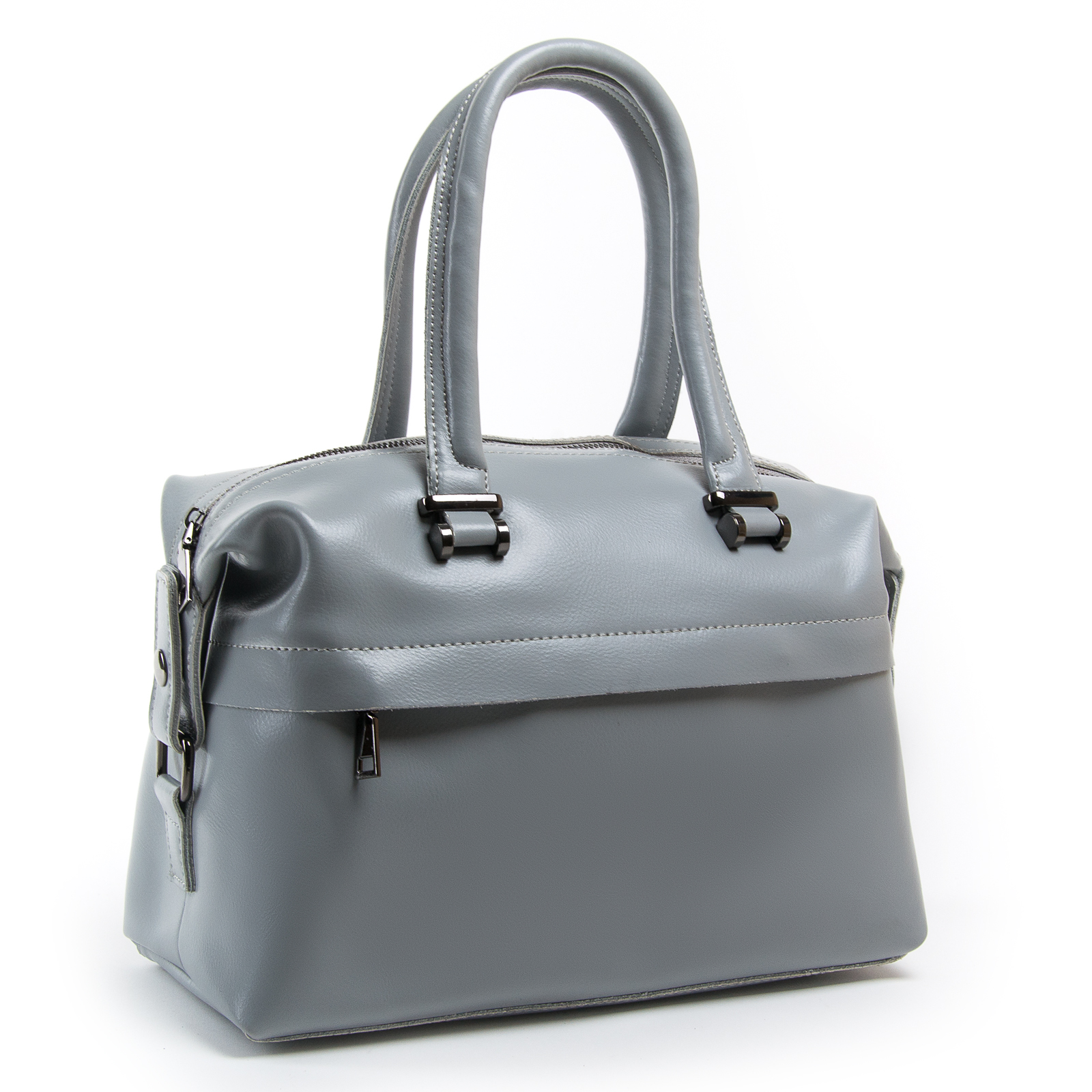 Сумка Женская Классическая кожа ALEX RAI 03-01 P1532 light-grey