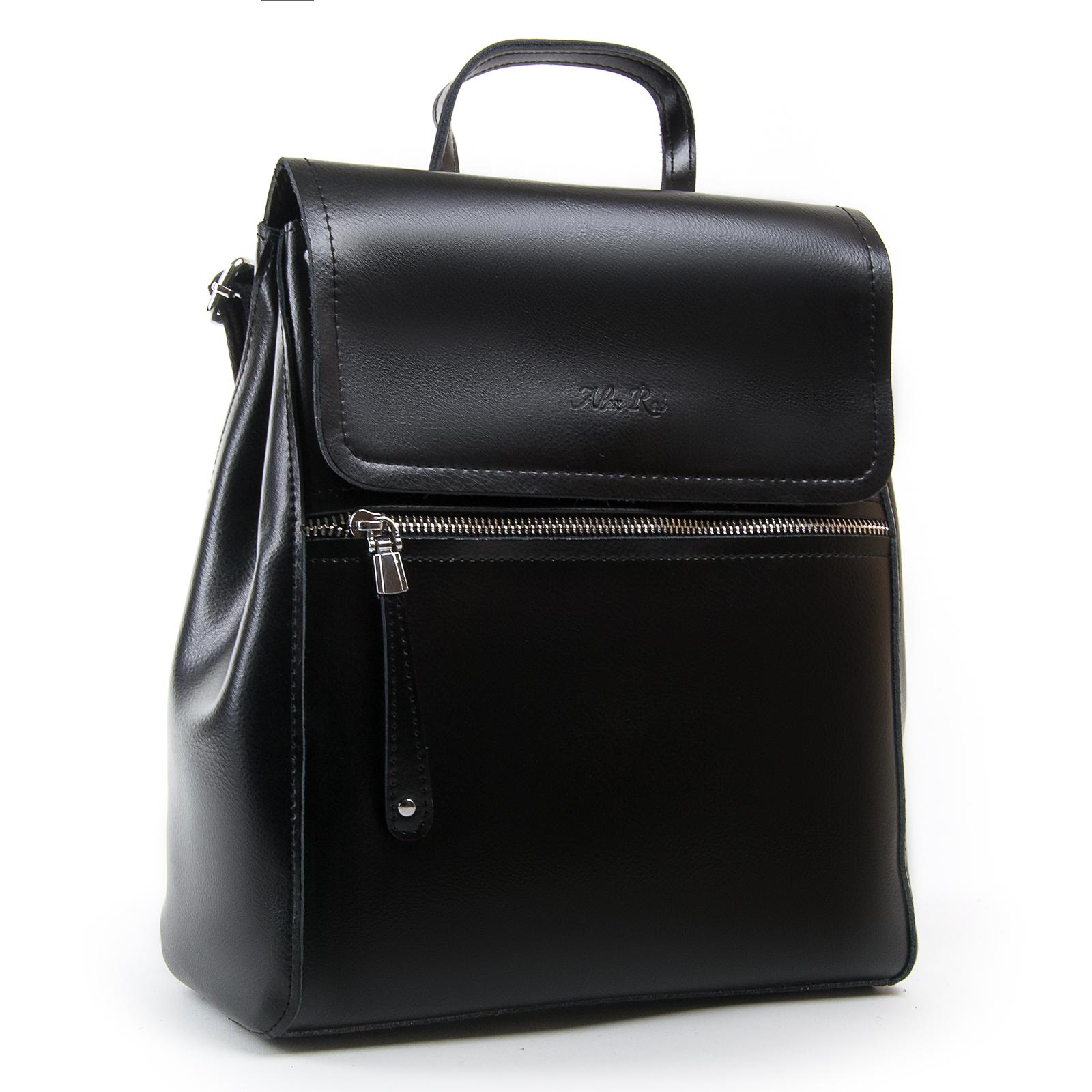 Сумка Женская Рюкзак кожа ALEX RAI 03-01 1005 black