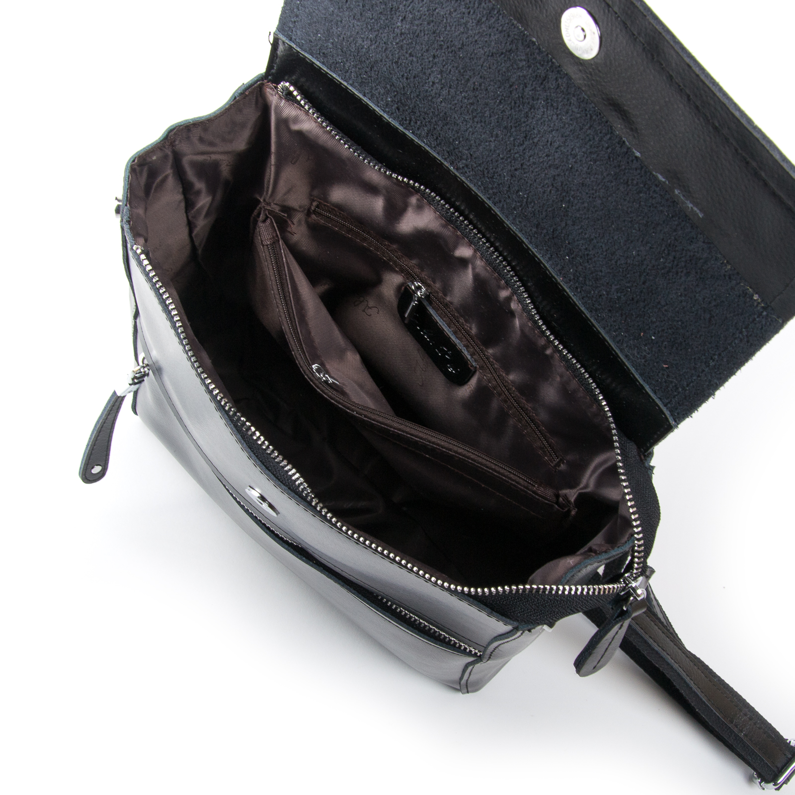 Сумка Женская Рюкзак кожа ALEX RAI 03-01 1005 black - фото 5