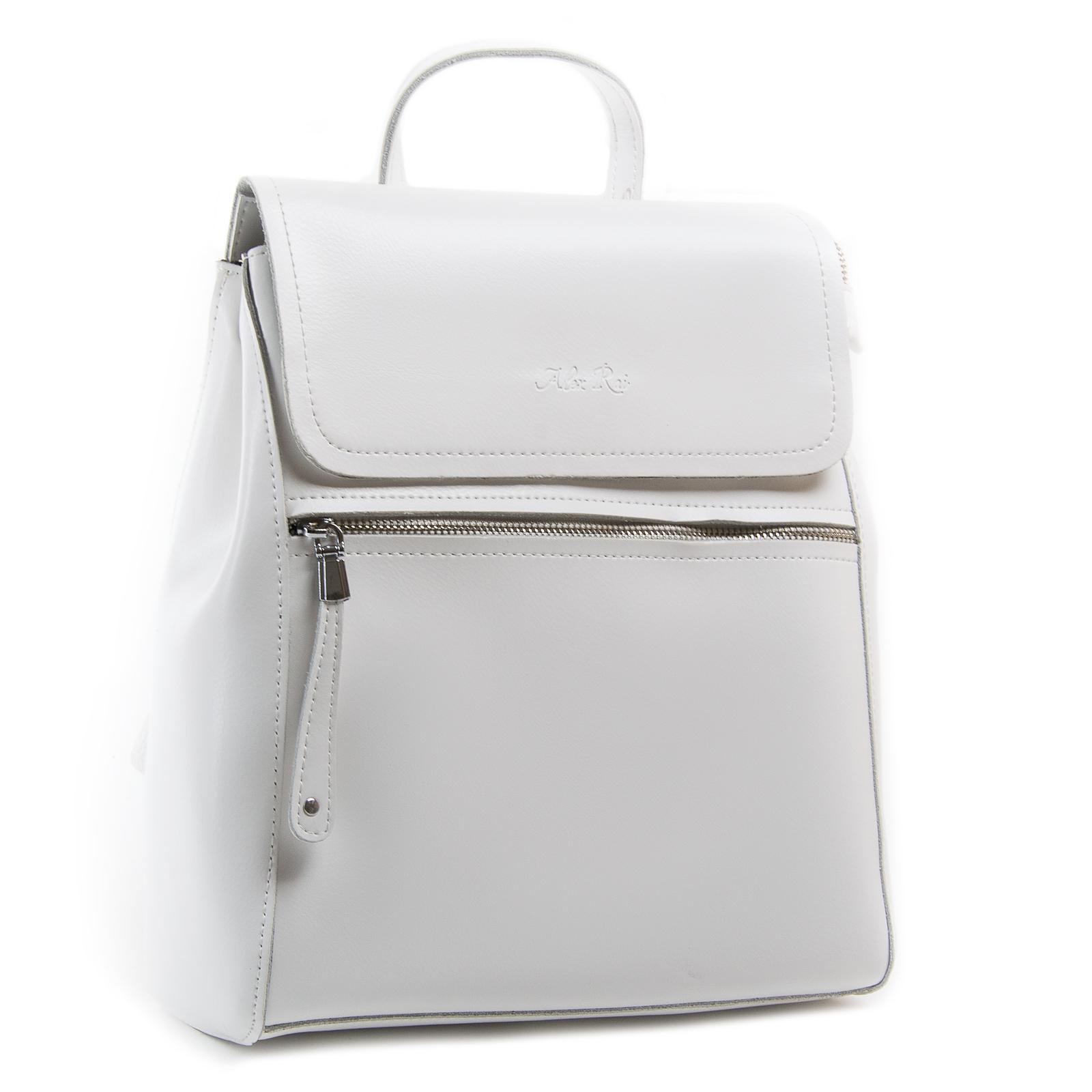Сумка Женская Рюкзак кожа ALEX RAI 03-01 1005 white