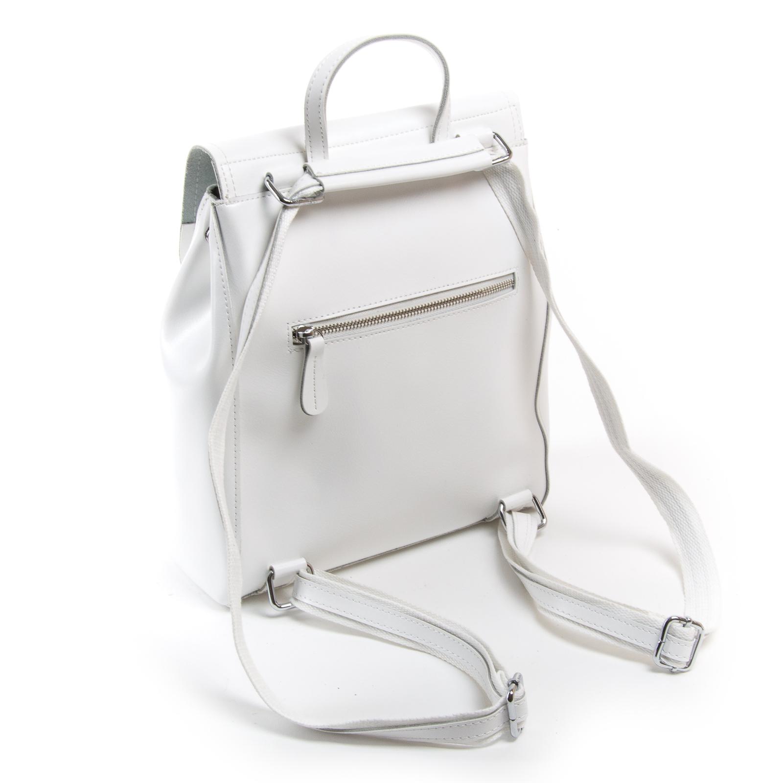 Сумка Женская Рюкзак кожа ALEX RAI 03-01 1005 white - фото 4