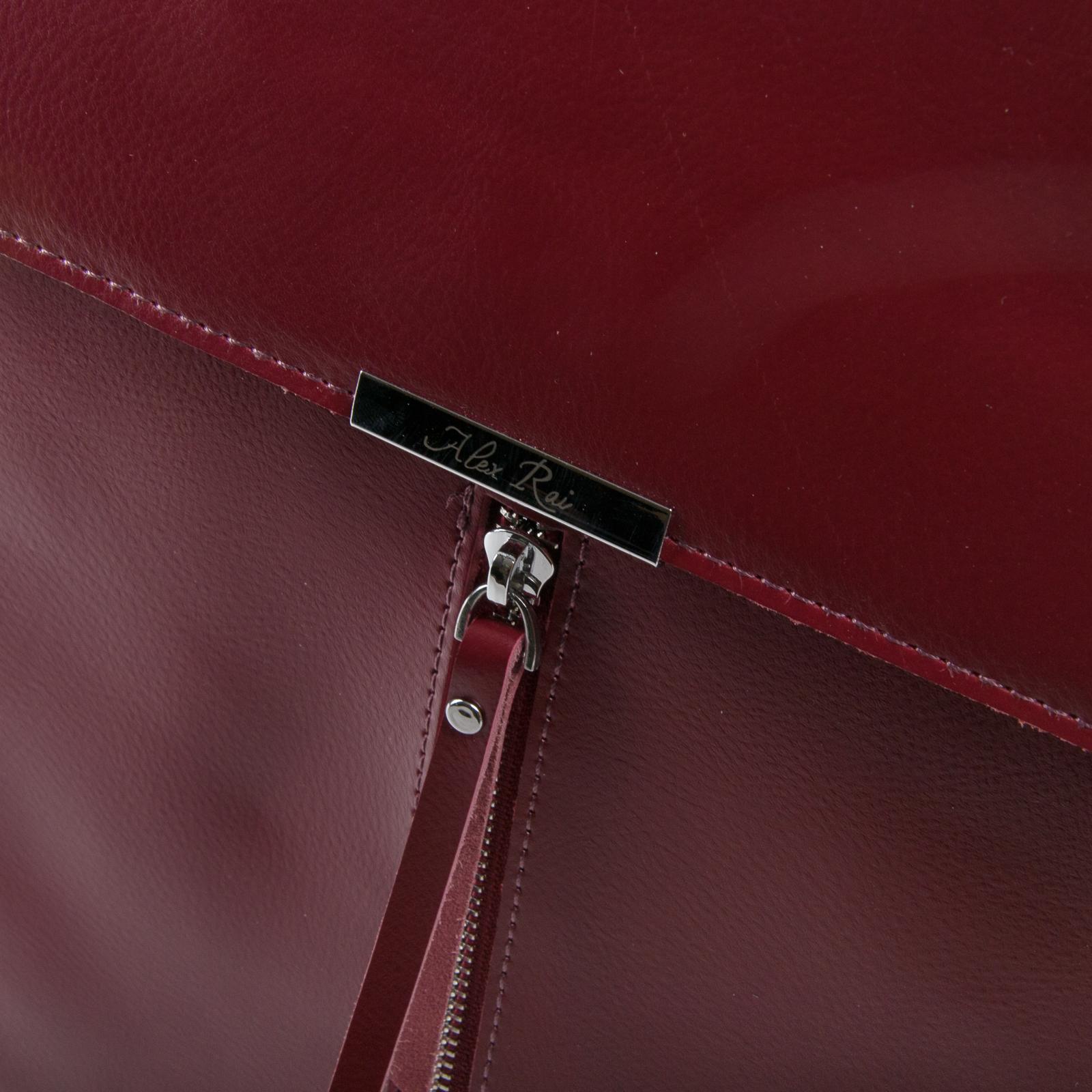 Сумка Женская Рюкзак кожа ALEX RAI 03-01 373 light-red - фото 3