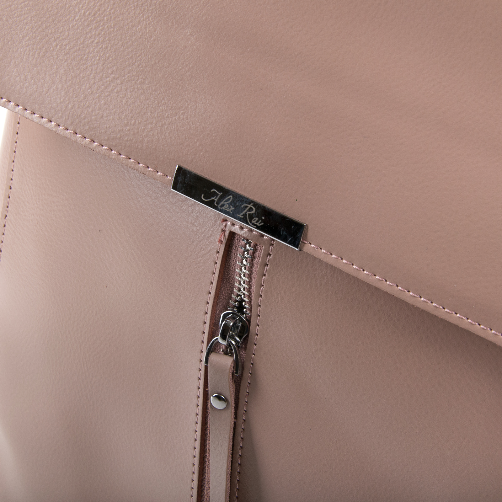 Сумка Женская Рюкзак кожа ALEX RAI 03-01 373 light-rose - фото 3