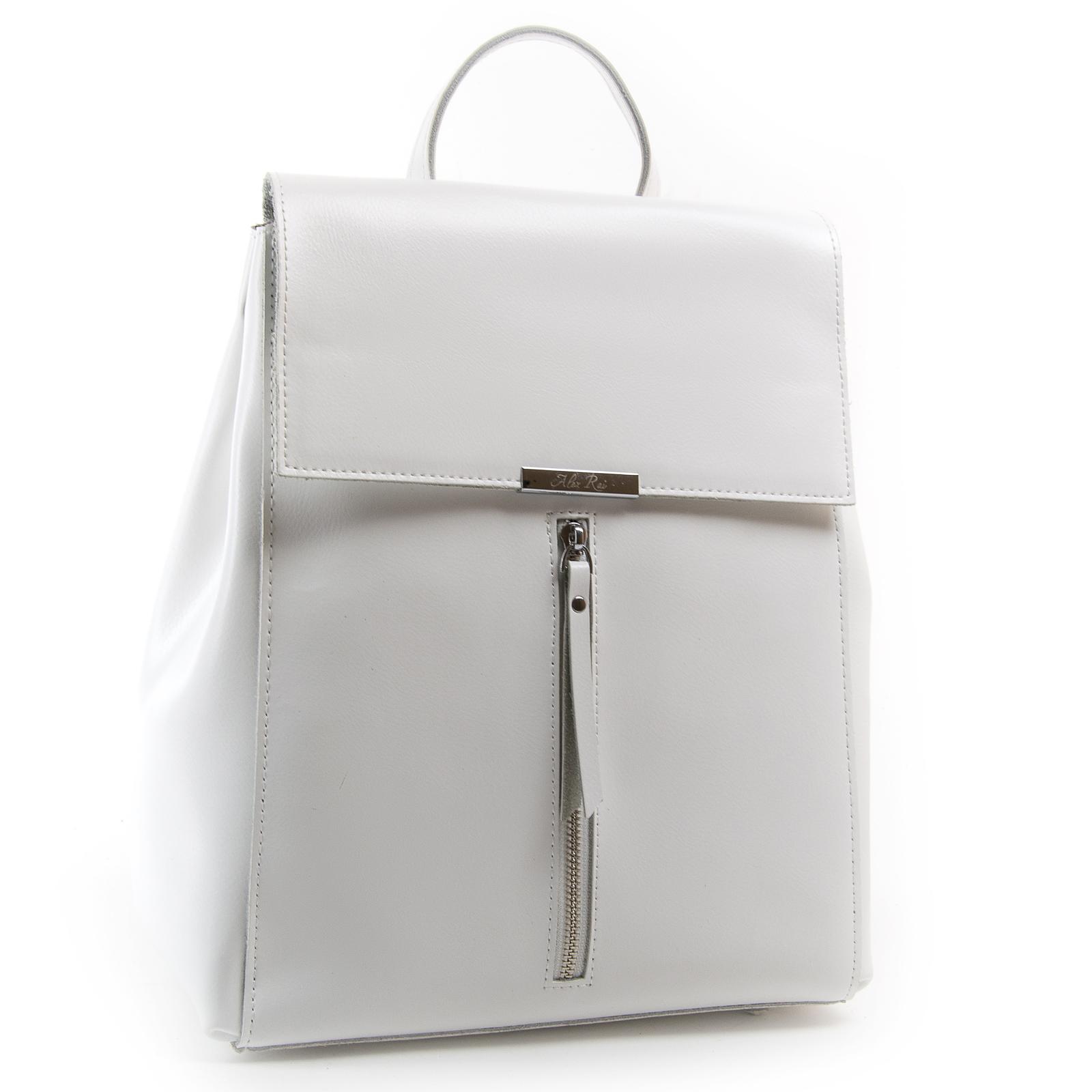 Сумка Женская Рюкзак кожа ALEX RAI 03-01 373 white