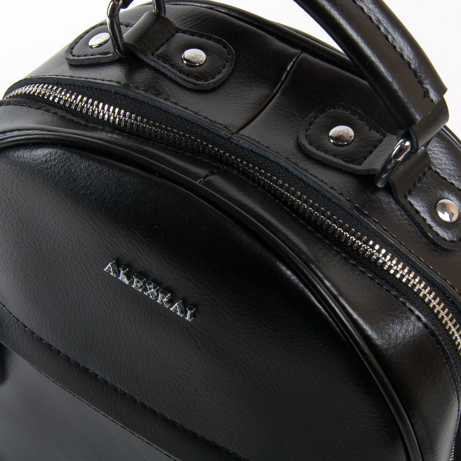 Сумка Женская Рюкзак кожа ALEX RAI 03-01 8715 black - фото 3