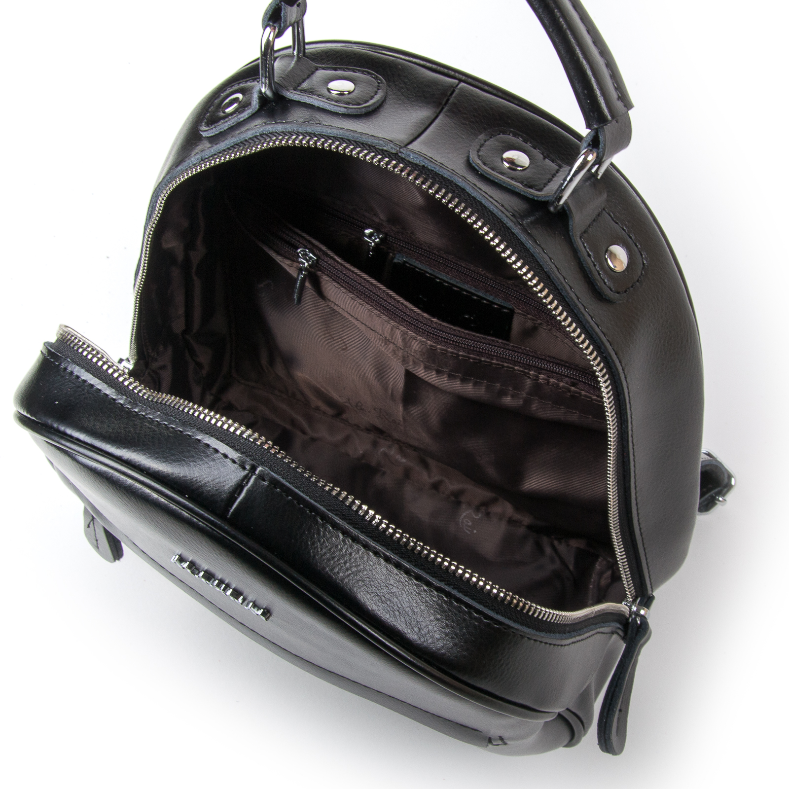 Сумка Женская Рюкзак кожа ALEX RAI 03-01 8715 black - фото 5
