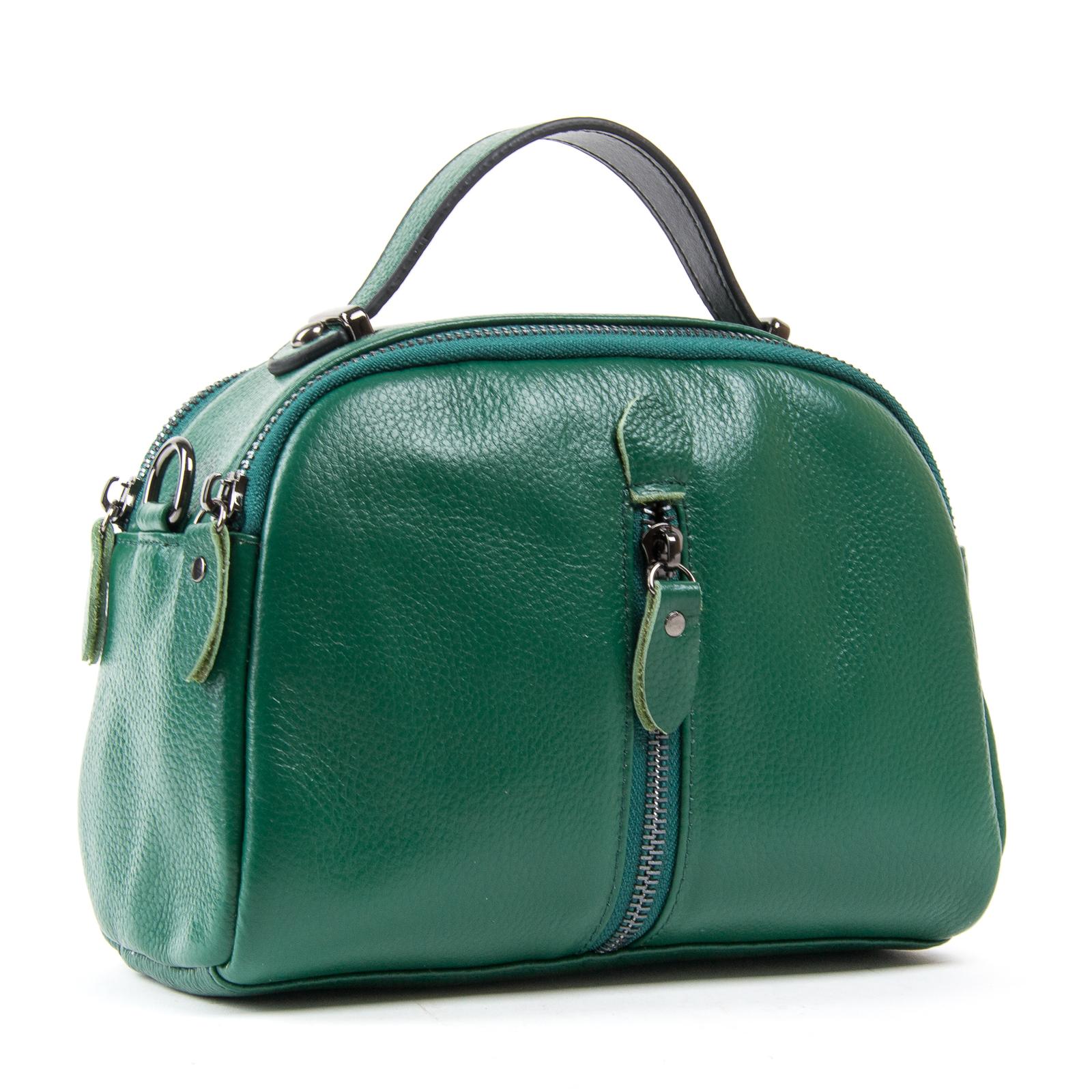 Сумка Женская Клатч кожа ALEX RAI 1-02 2906-12 green