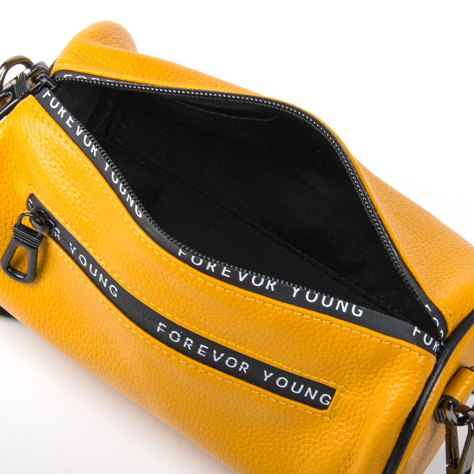 Сумка Женская Клатч кожа ALEX RAI 1-02 39030-9 yellow - фото 4