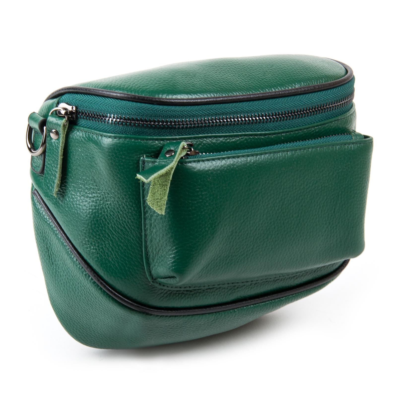 Сумка Женская Клатч кожа ALEX RAI 1-02 39031-12 green