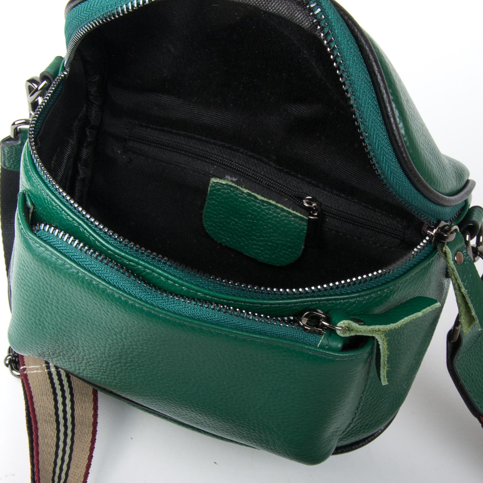 Сумка Женская Клатч кожа ALEX RAI 1-02 39031-12 green - фото 4