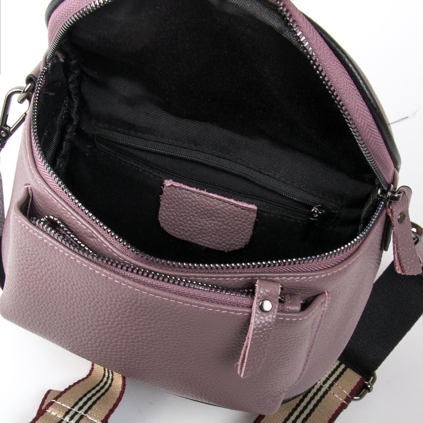 Сумка Женская Клатч кожа ALEX RAI 1-02 39031-3 purple - фото 4