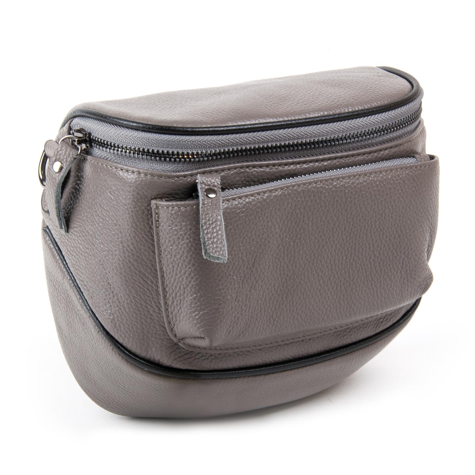 Сумка Женская Клатч кожа ALEX RAI 1-02 39031-7 grey