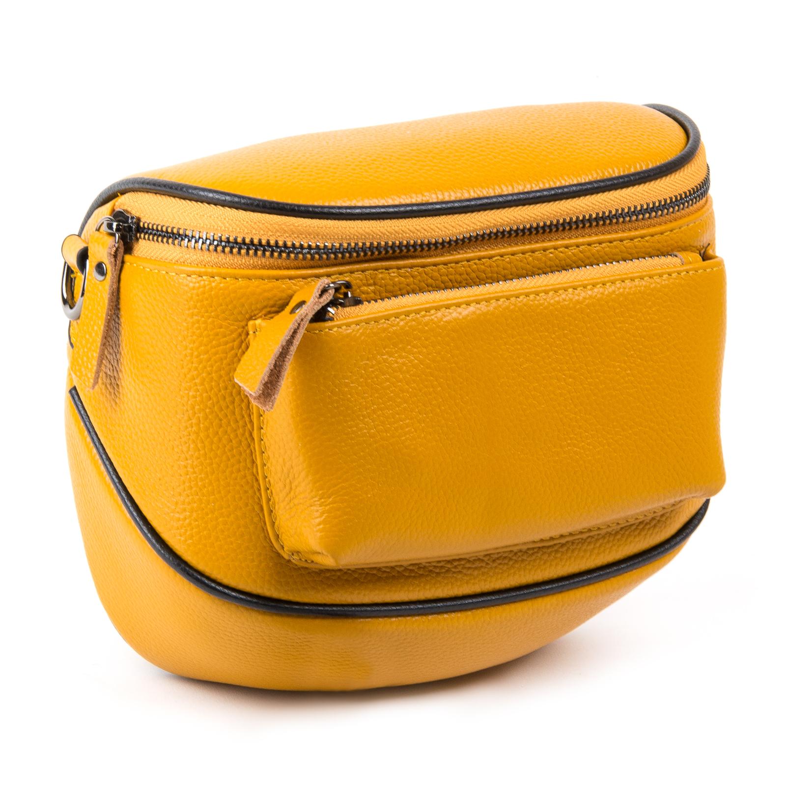 Сумка Женская Клатч кожа ALEX RAI 1-02 39031-9 yellow