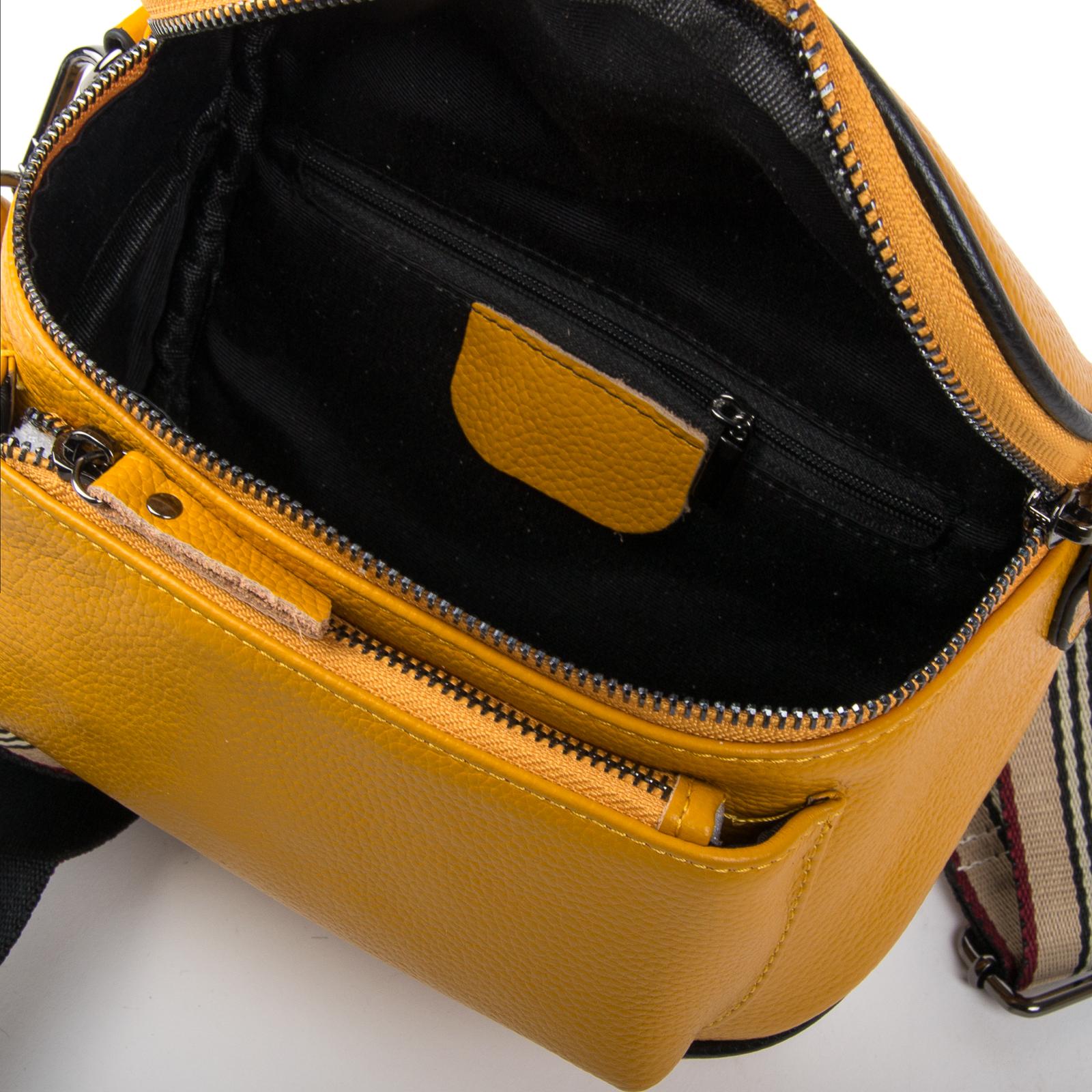 Сумка Женская Клатч кожа ALEX RAI 1-02 39031-9 yellow - фото 4