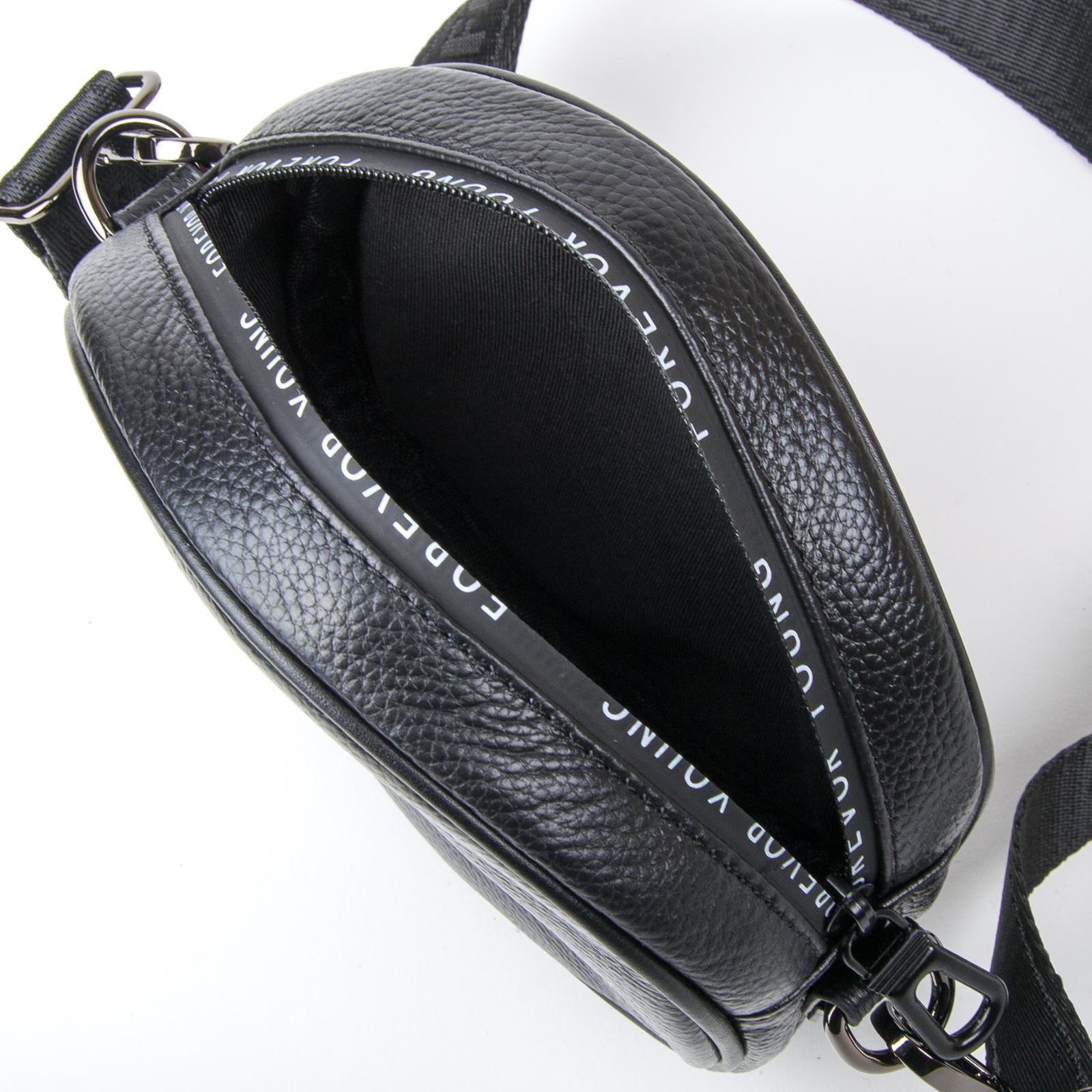 Сумка Женская Клатч кожа ALEX RAI 1-02 39032-1 black - фото 4