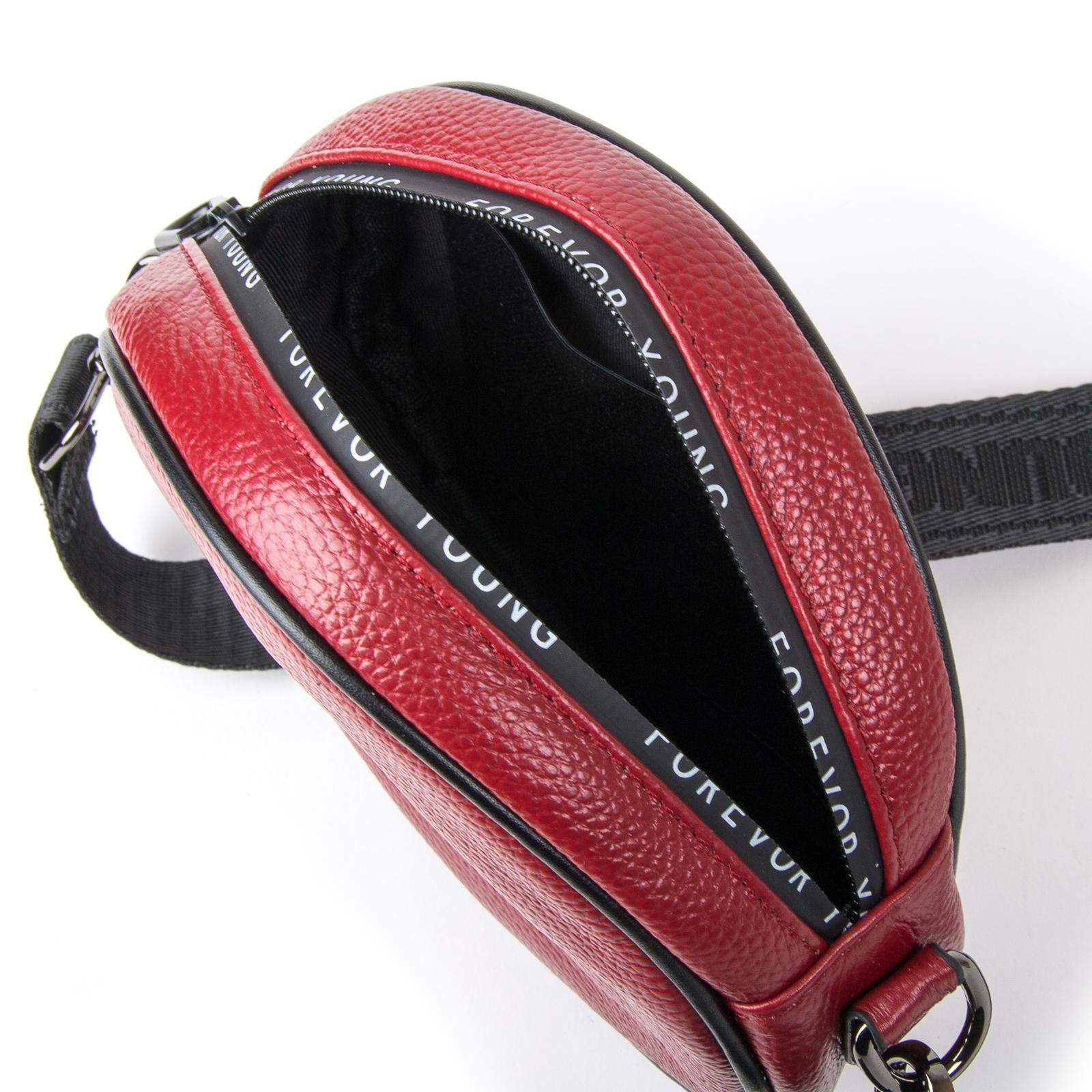 Сумка Женская Клатч кожа ALEX RAI 1-02 39032-2 bordo - фото 4