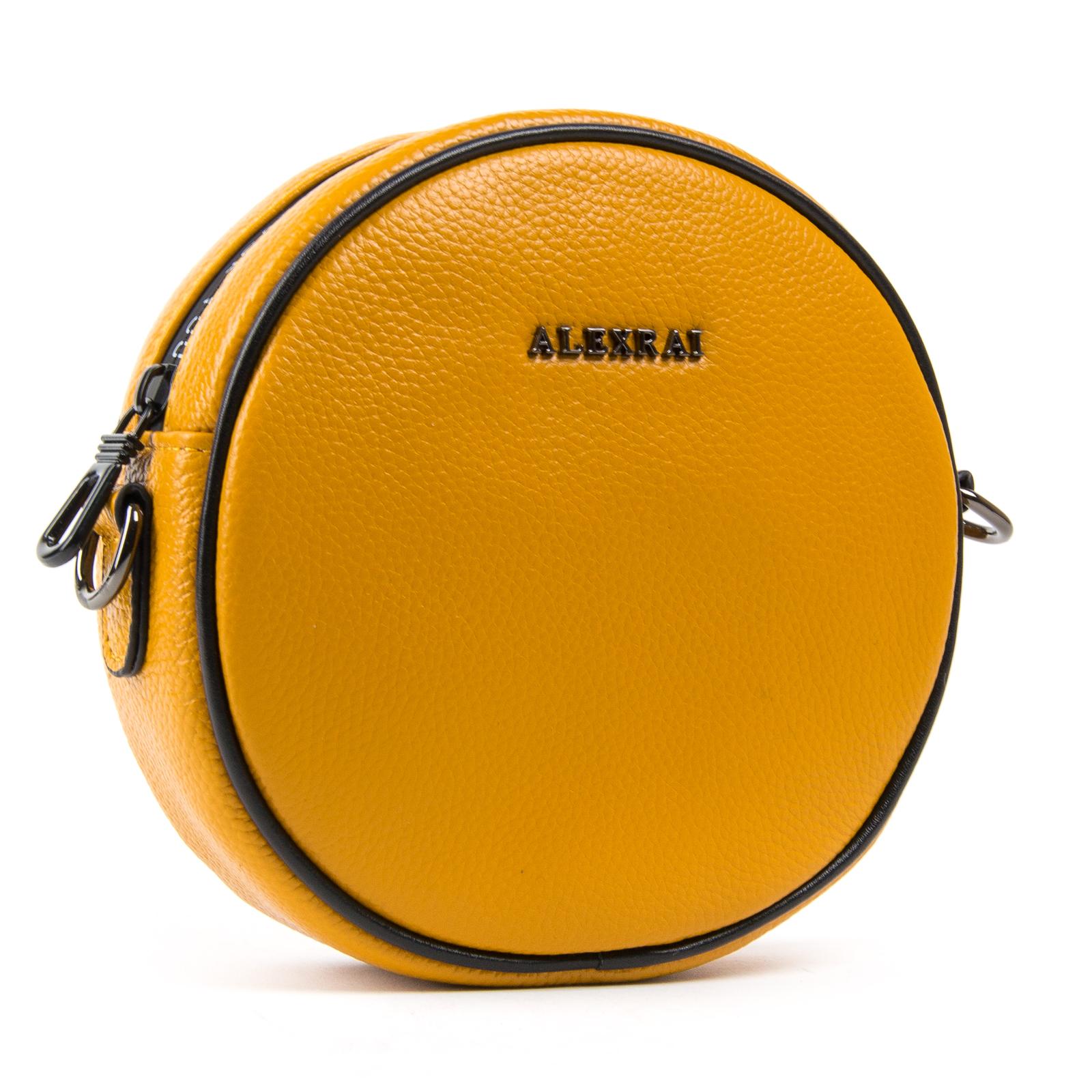 Сумка Женская Клатч кожа ALEX RAI 1-02 39032-9 yellow