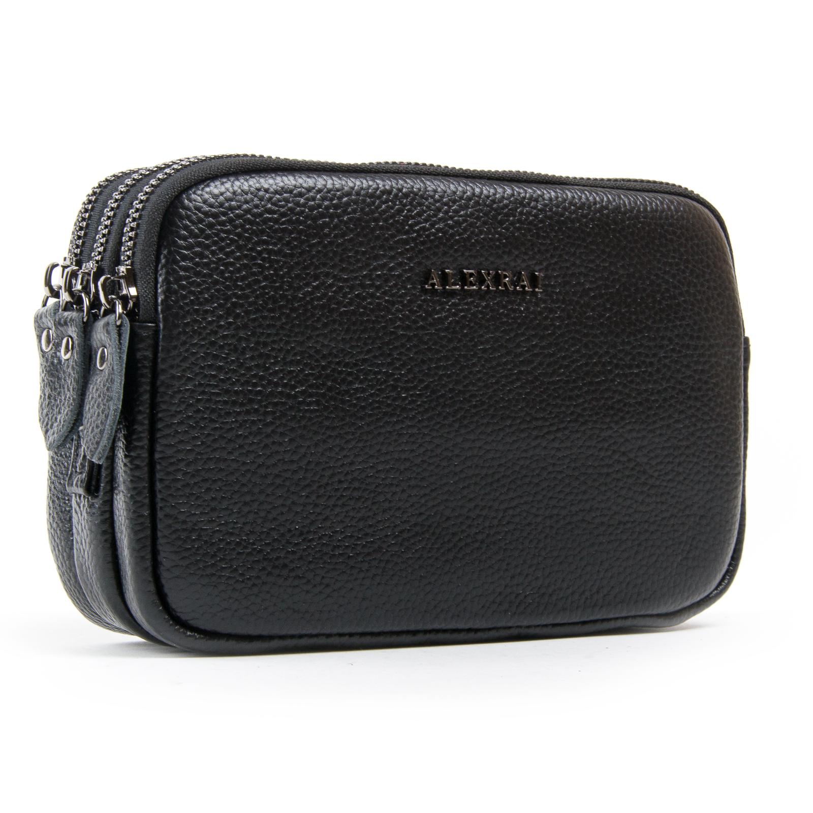 Сумка Женская Клатч кожа ALEX RAI 1-02 60061-1 black